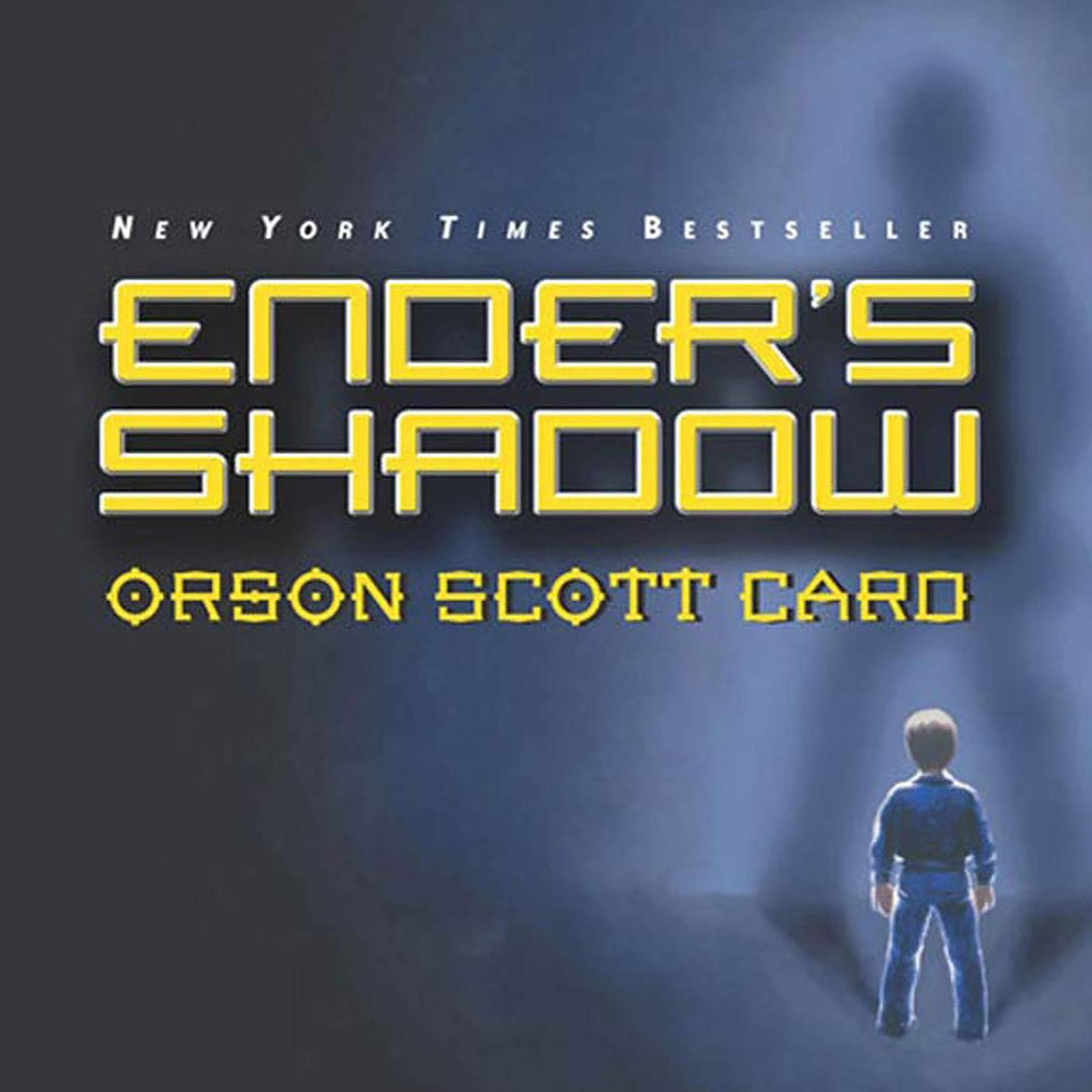 Printable Ender's Shadow Audiobook Cover Art