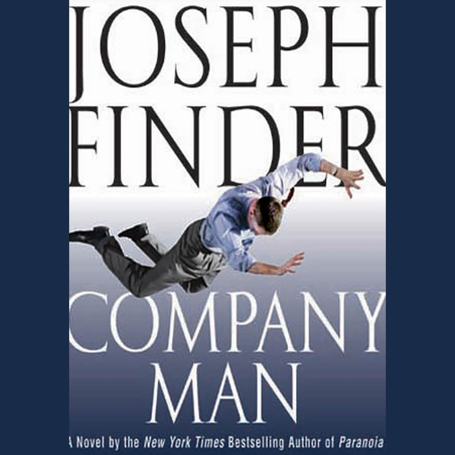 Printable Company Man Audiobook Cover Art