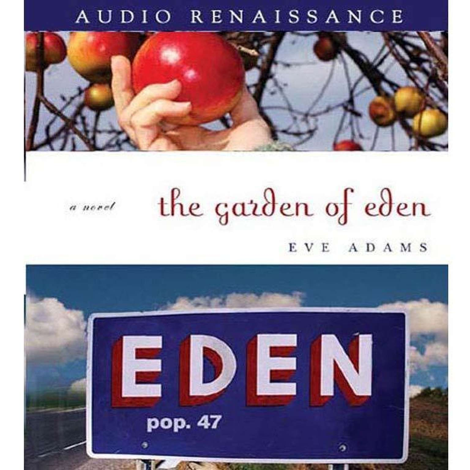 Printable The Garden of Eden Audiobook Cover Art