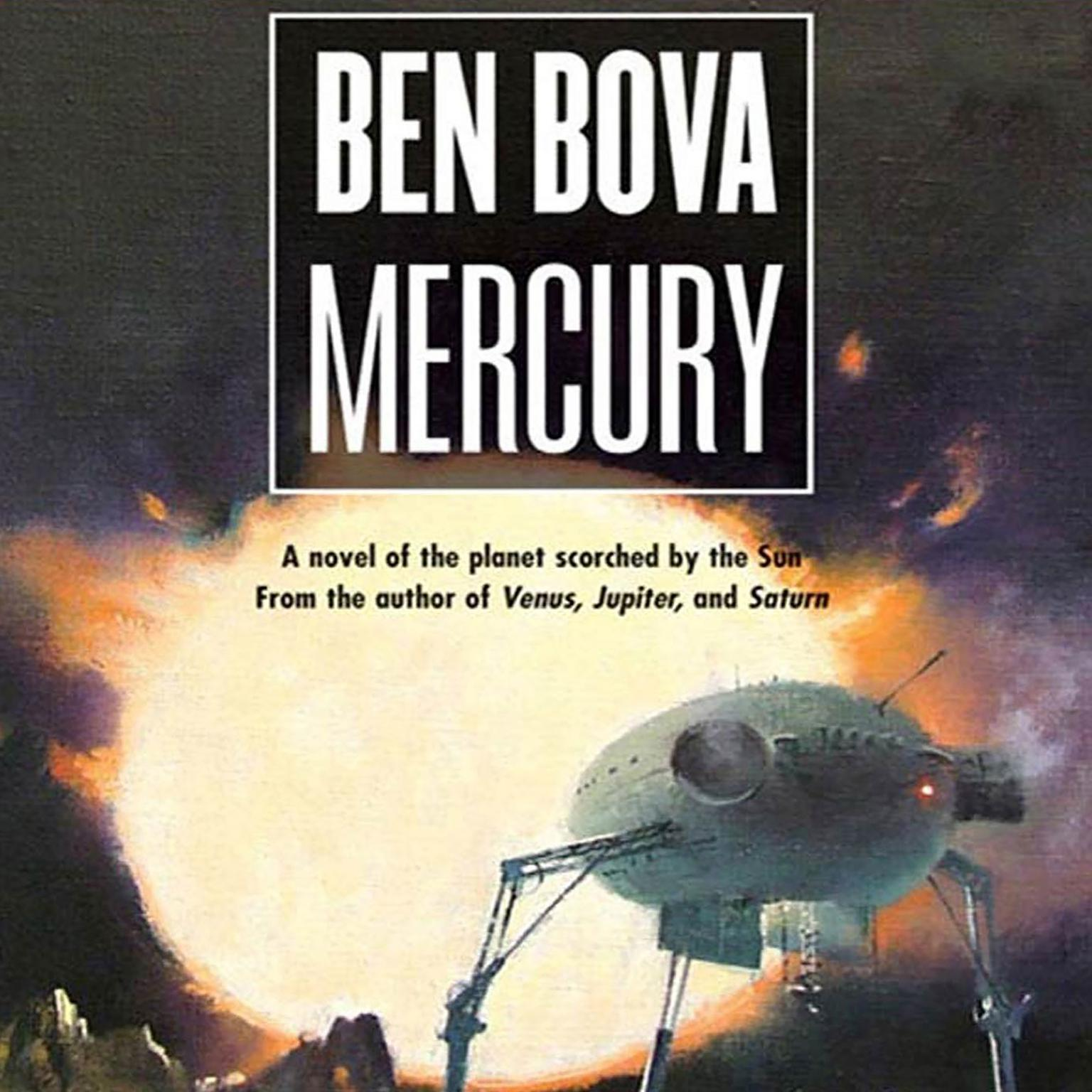 Printable Mercury Audiobook Cover Art