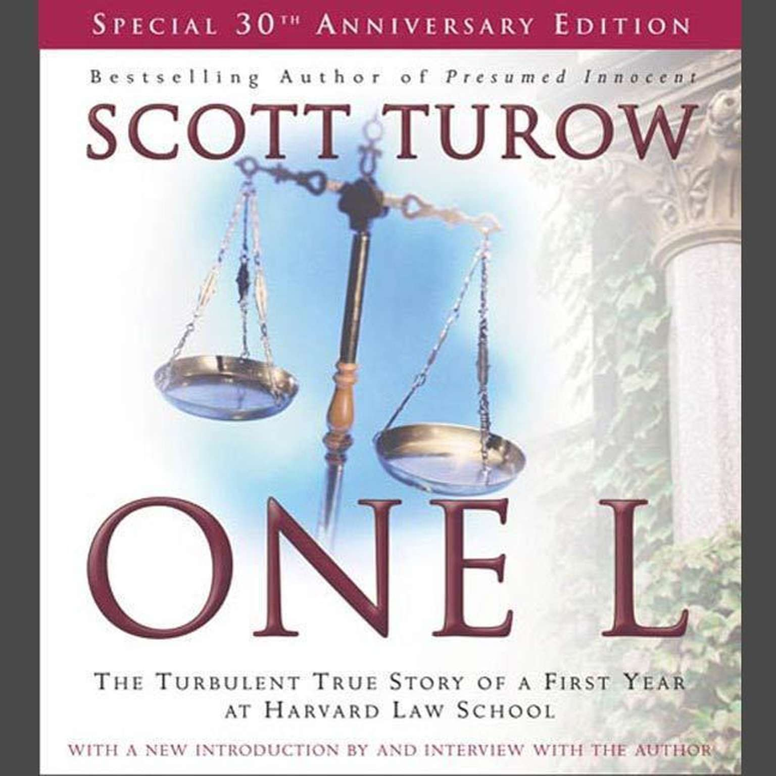 Printable One L: The Turbulent True Story of a First Year at Harvard Law School Audiobook Cover Art