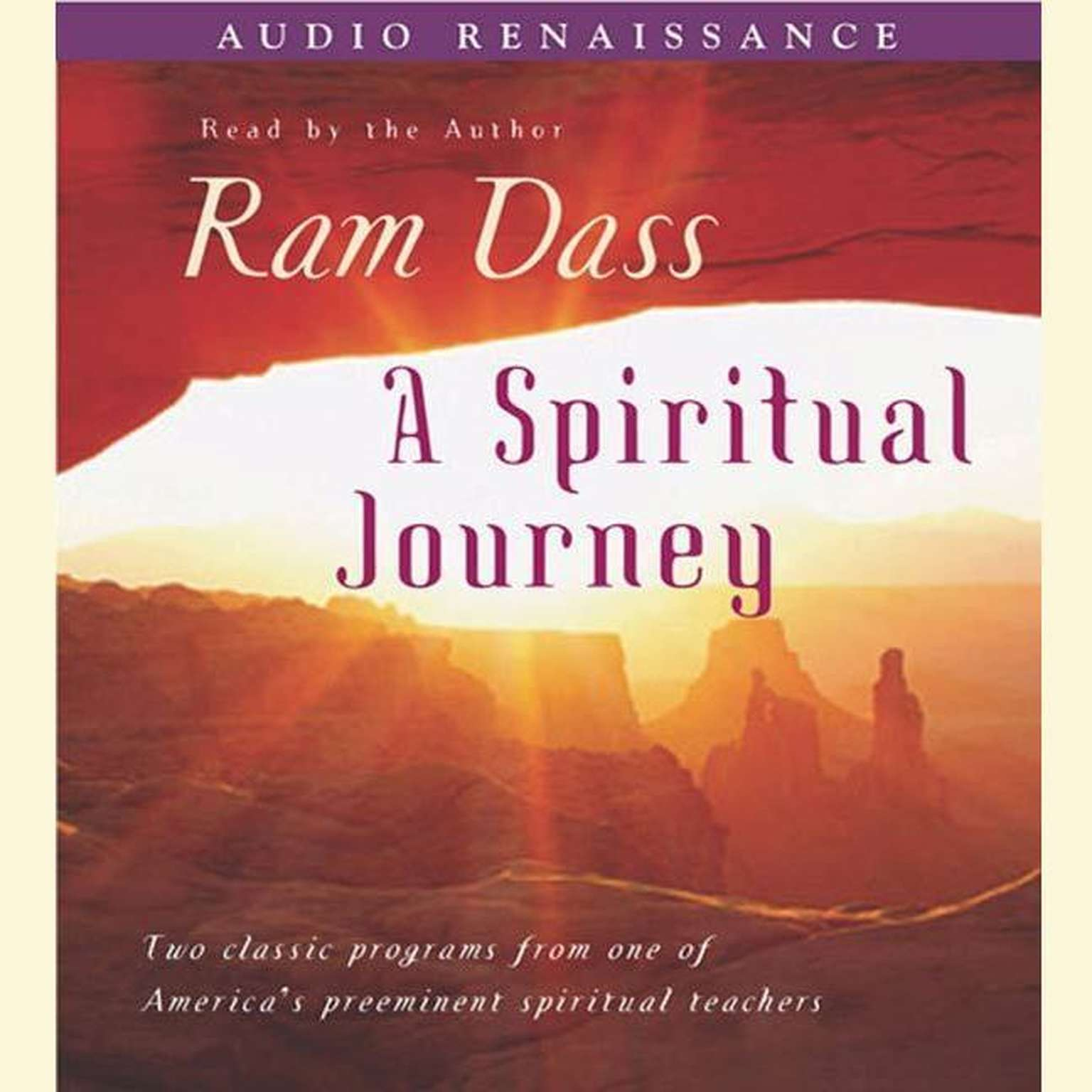Printable A Spiritual Journey Audiobook Cover Art