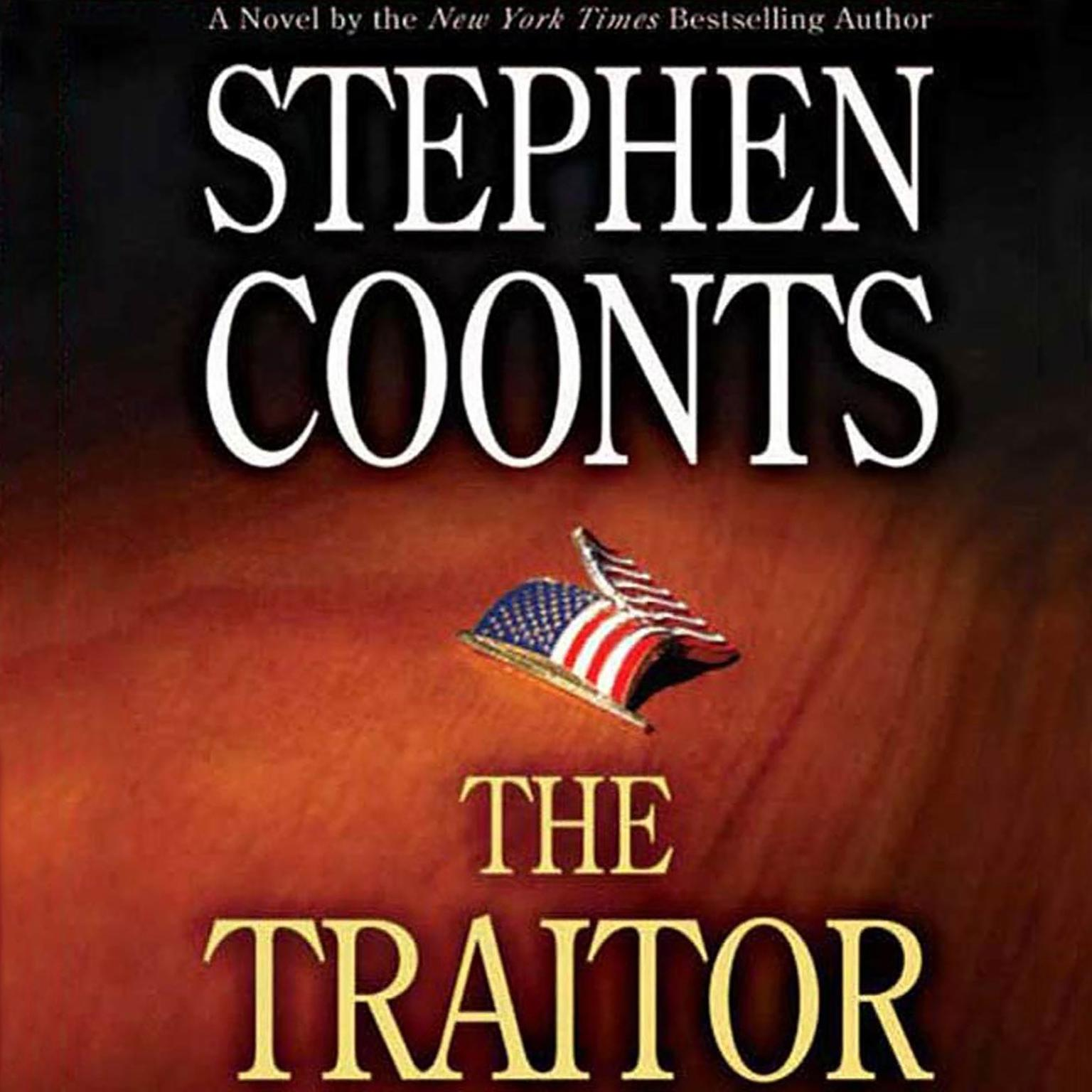 Printable The Traitor: A Tommy Carmellini Novel Audiobook Cover Art
