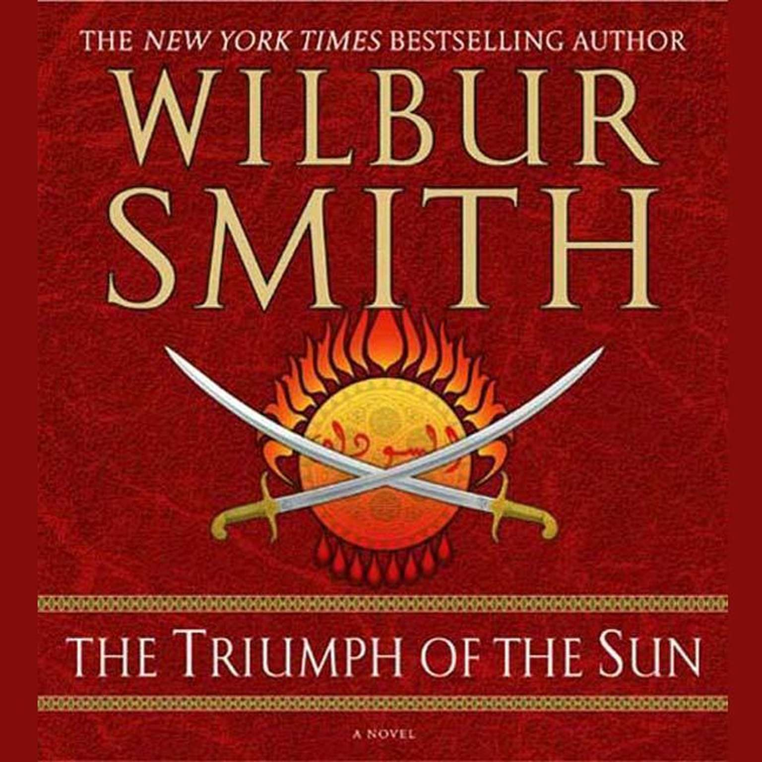 Printable The Triumph of the Sun: A Novel Audiobook Cover Art