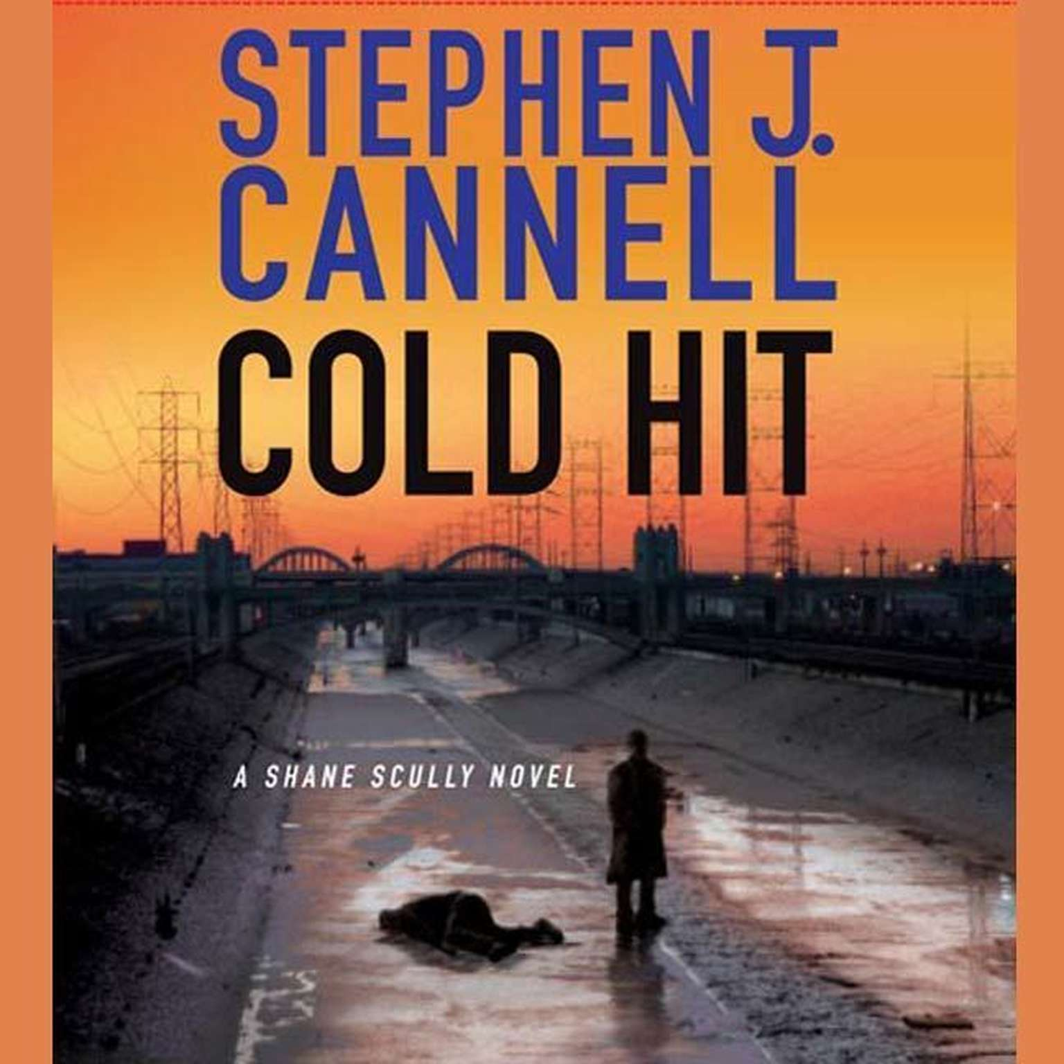 Printable Cold Hit (Abridged): A Shane Scully Novel Audiobook Cover Art