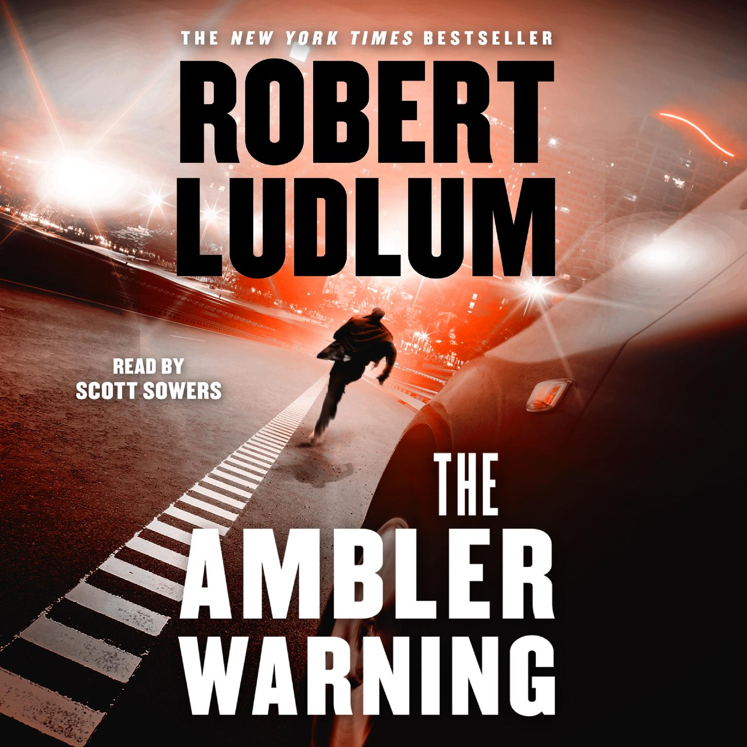 Printable The Ambler Warning: A Novel Audiobook Cover Art