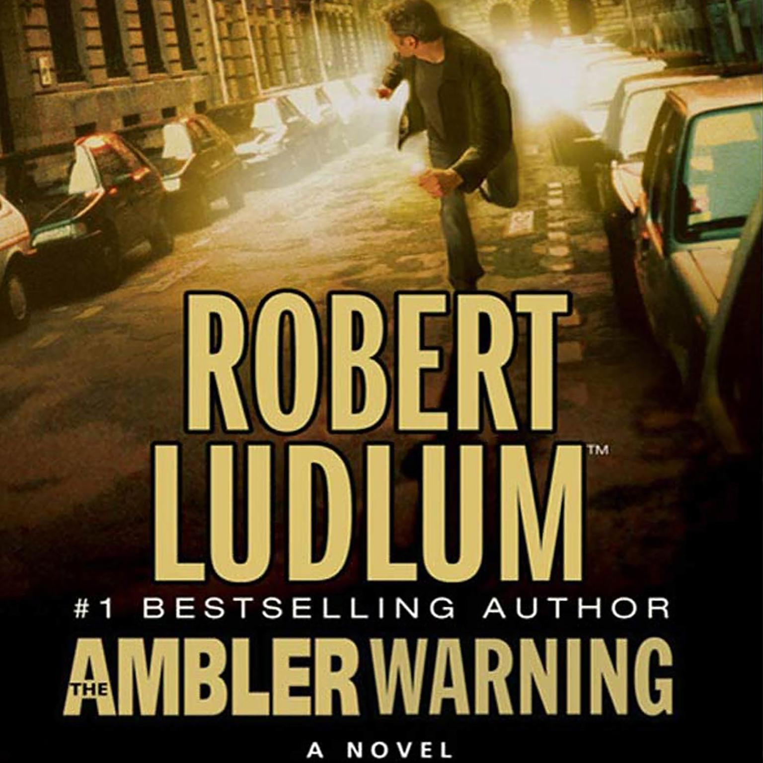 Printable The Ambler Warning Audiobook Cover Art
