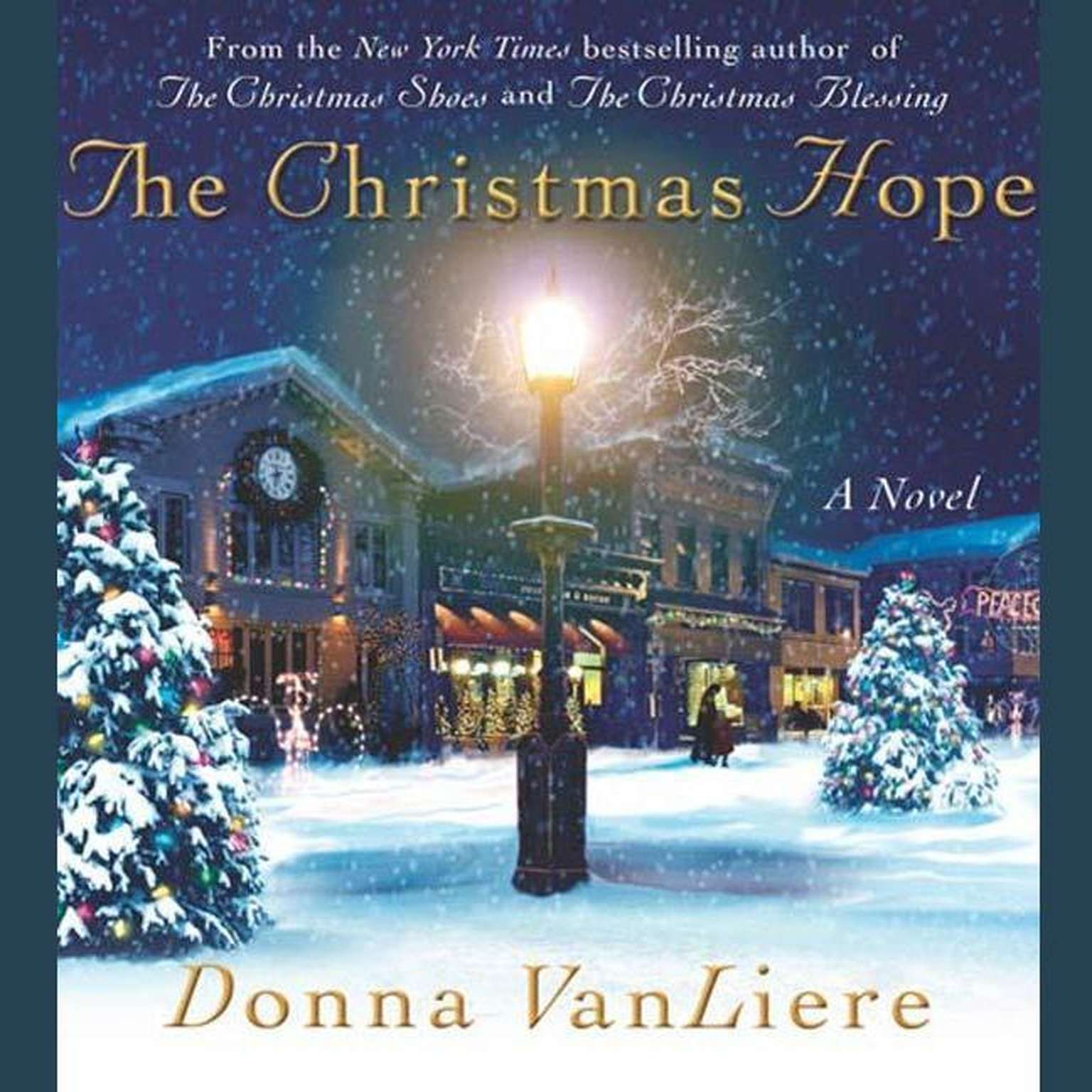 Printable The Christmas Hope: A Novel Audiobook Cover Art