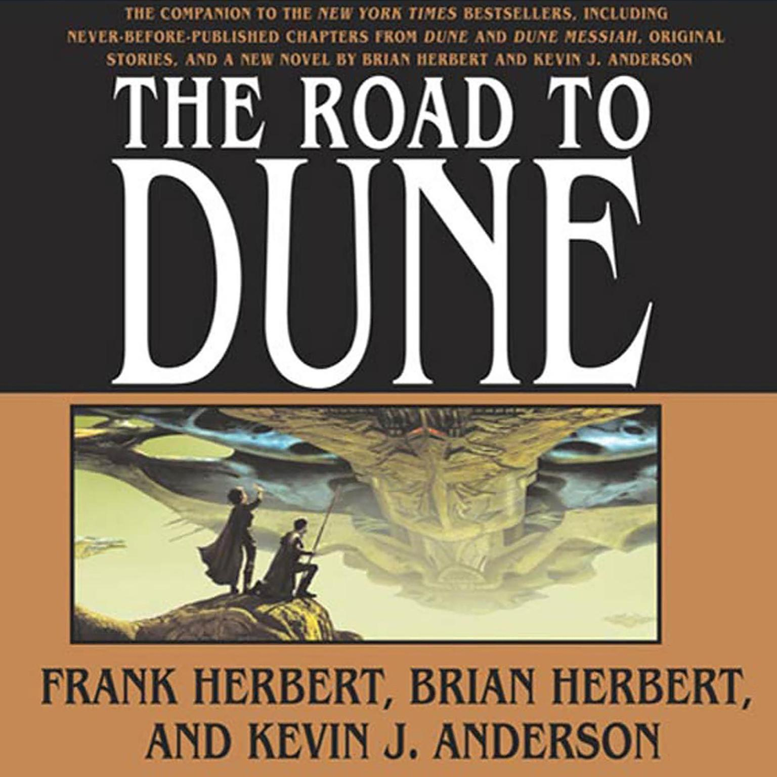 Printable The Road to Dune Audiobook Cover Art