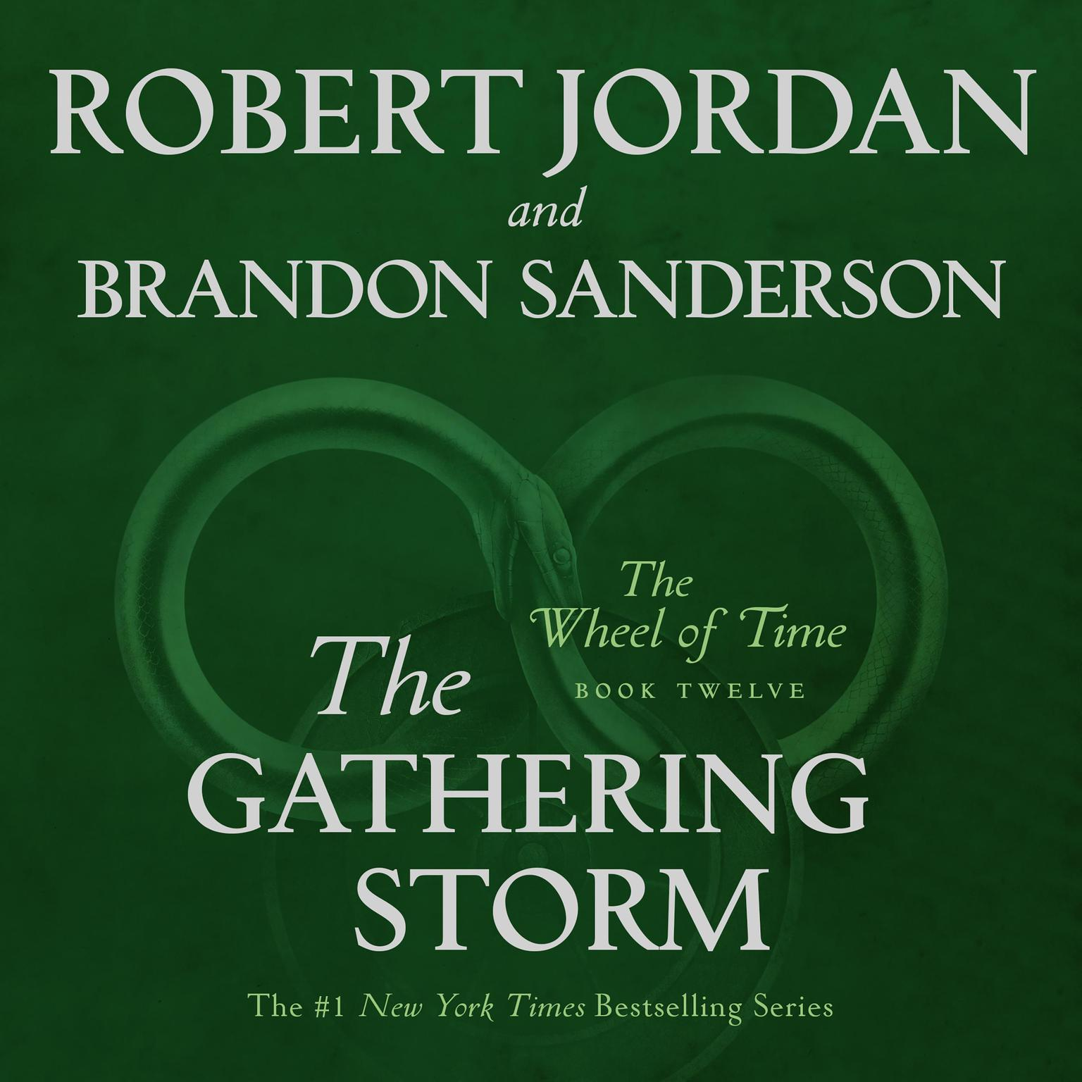 Printable The Gathering Storm: Book Twelve of the Wheel of Time Audiobook Cover Art