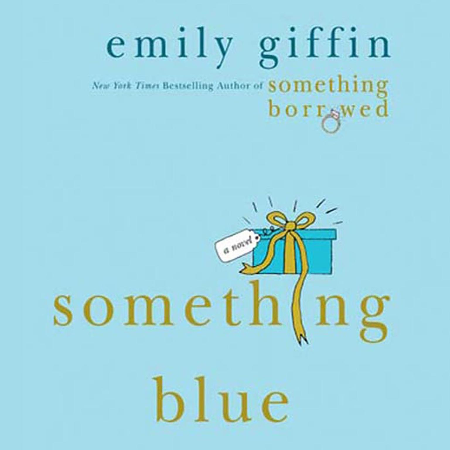 Printable Something Blue: A Novel Audiobook Cover Art