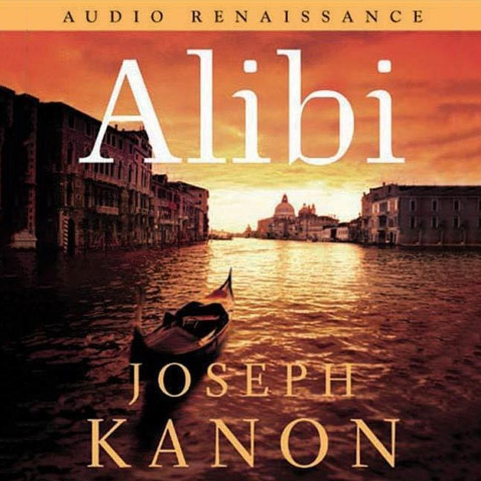 Printable Alibi: A Novel Audiobook Cover Art