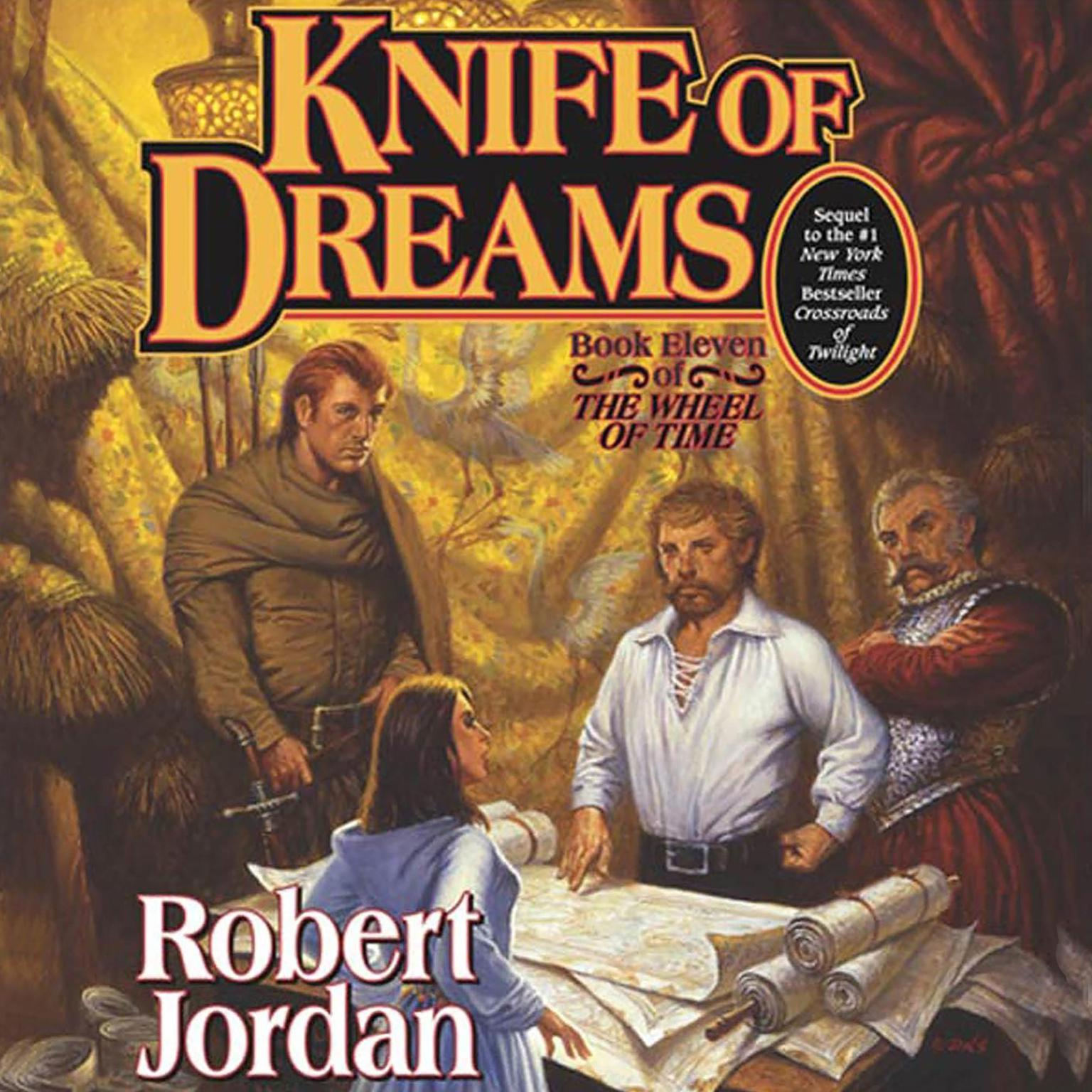 Printable Knife of Dreams Audiobook Cover Art