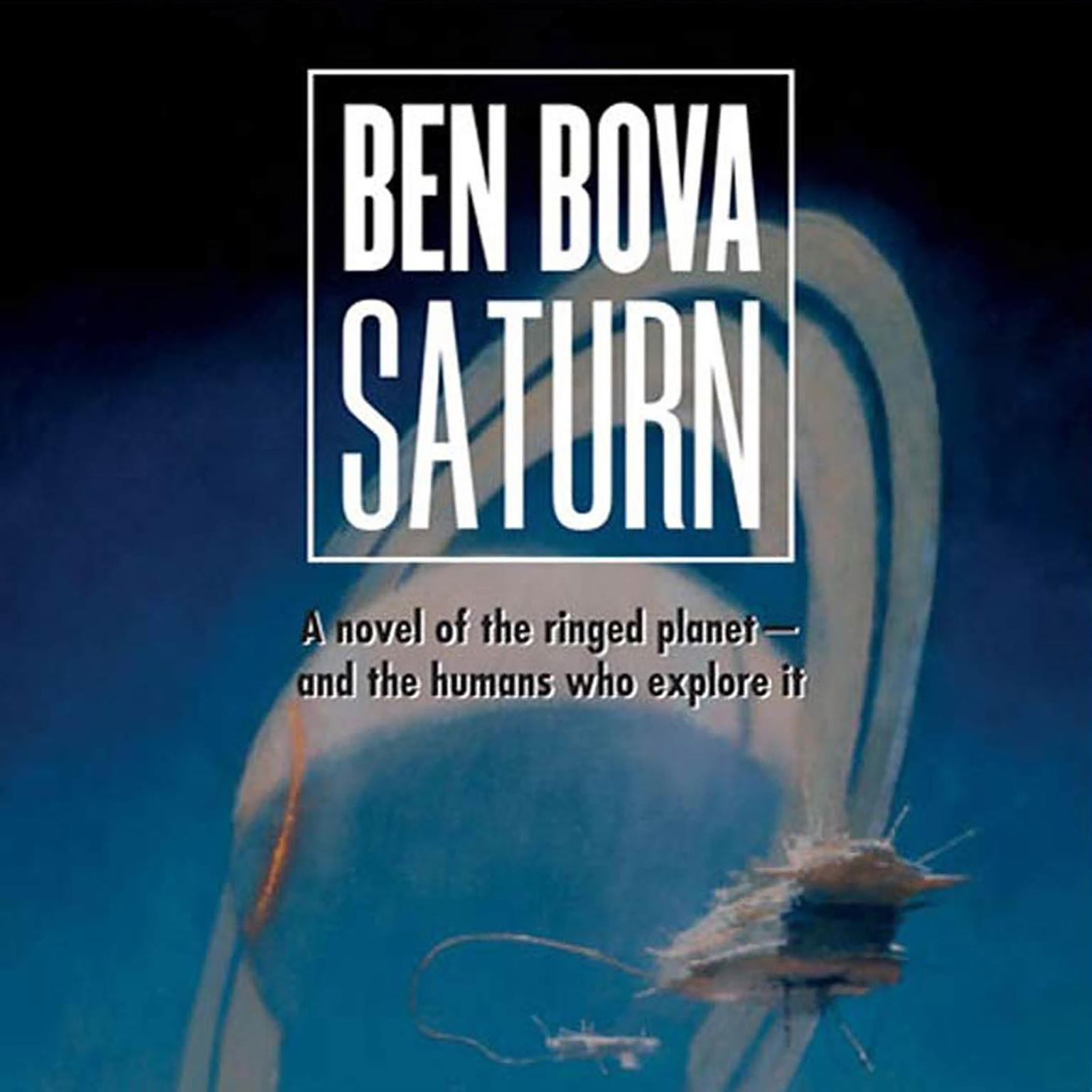 Printable Saturn: A Novel of the Ringed Planet Audiobook Cover Art