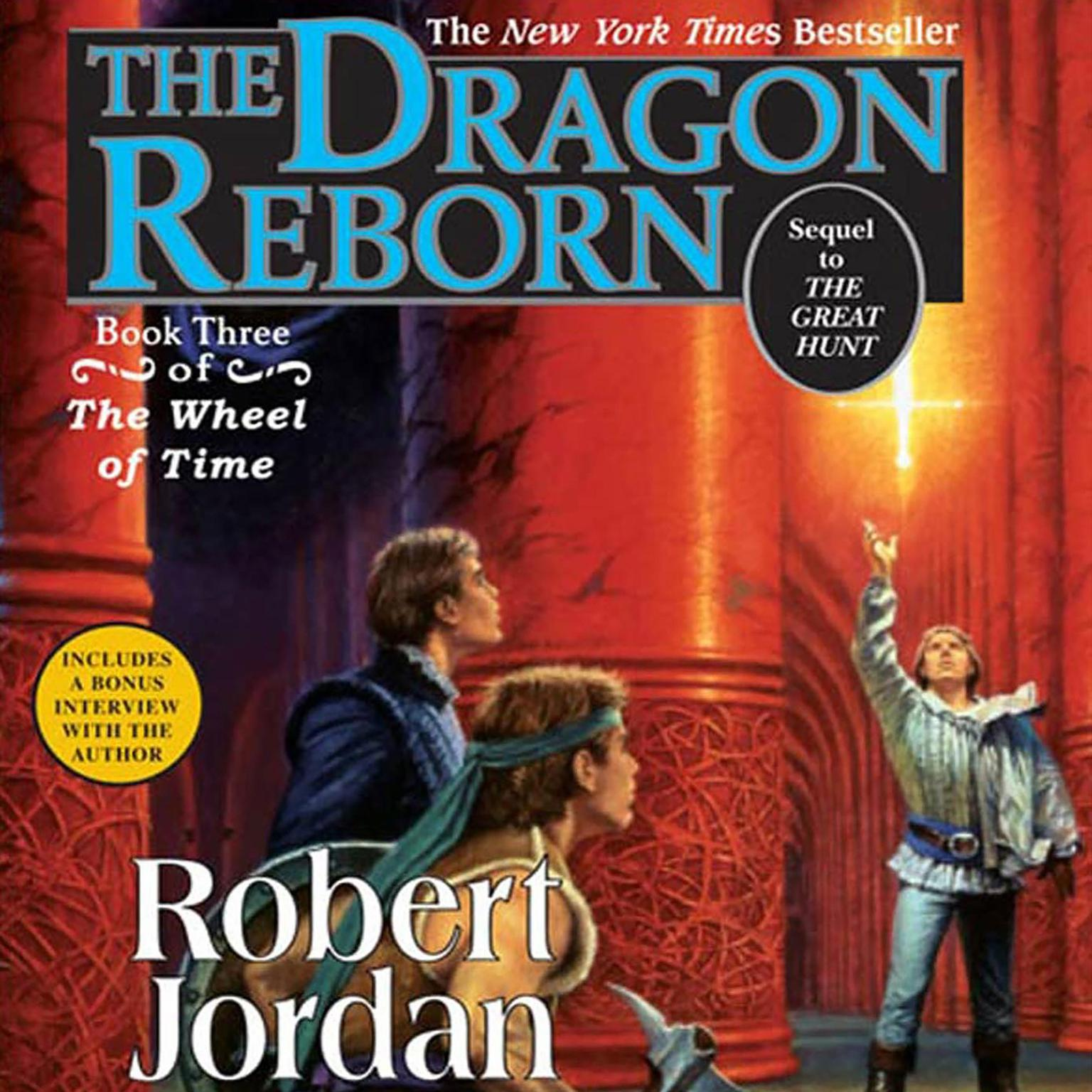 Printable The Dragon Reborn: Book Three of 'The Wheel of Time' Audiobook Cover Art