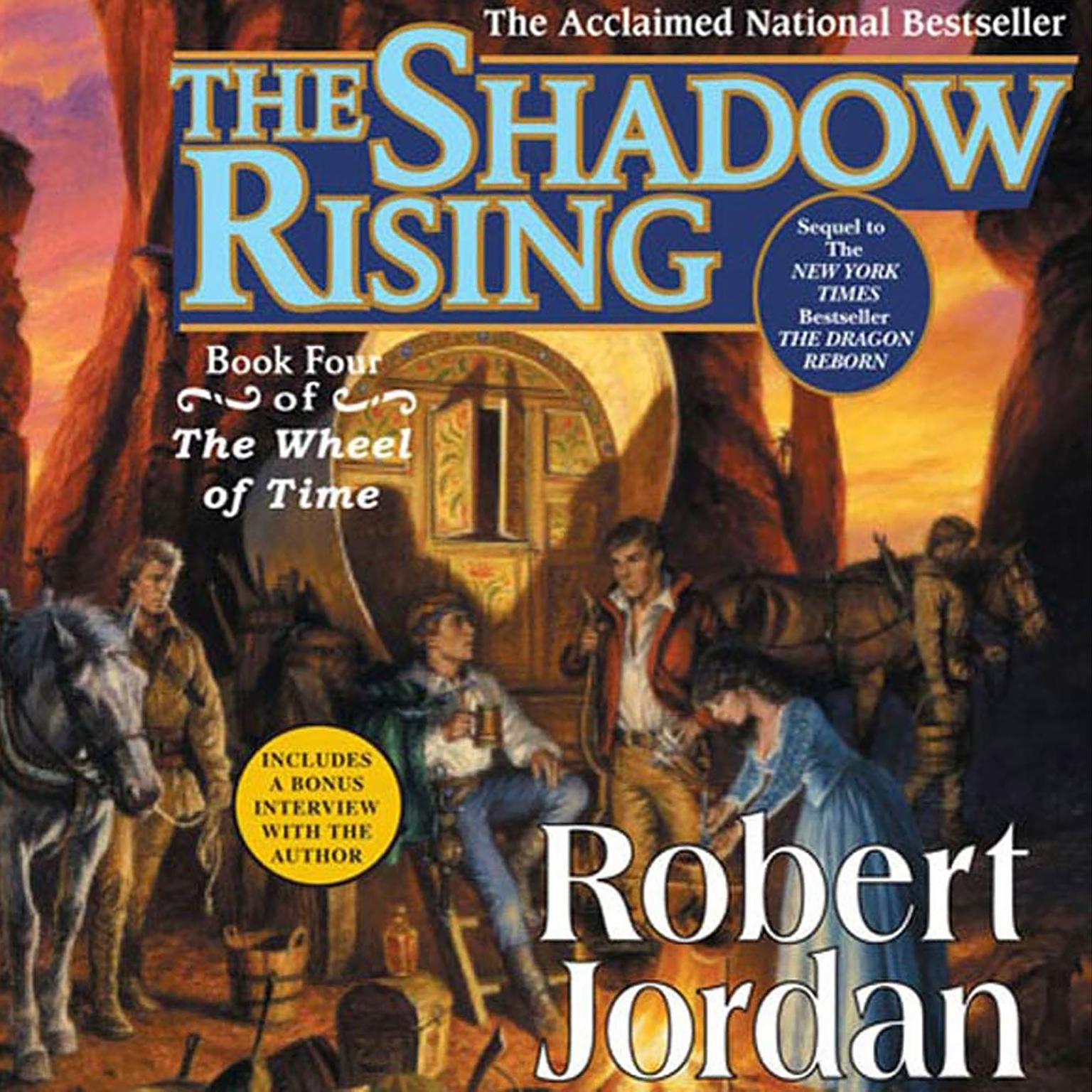Printable The Shadow Rising: Book Four of 'The Wheel of Time' Audiobook Cover Art