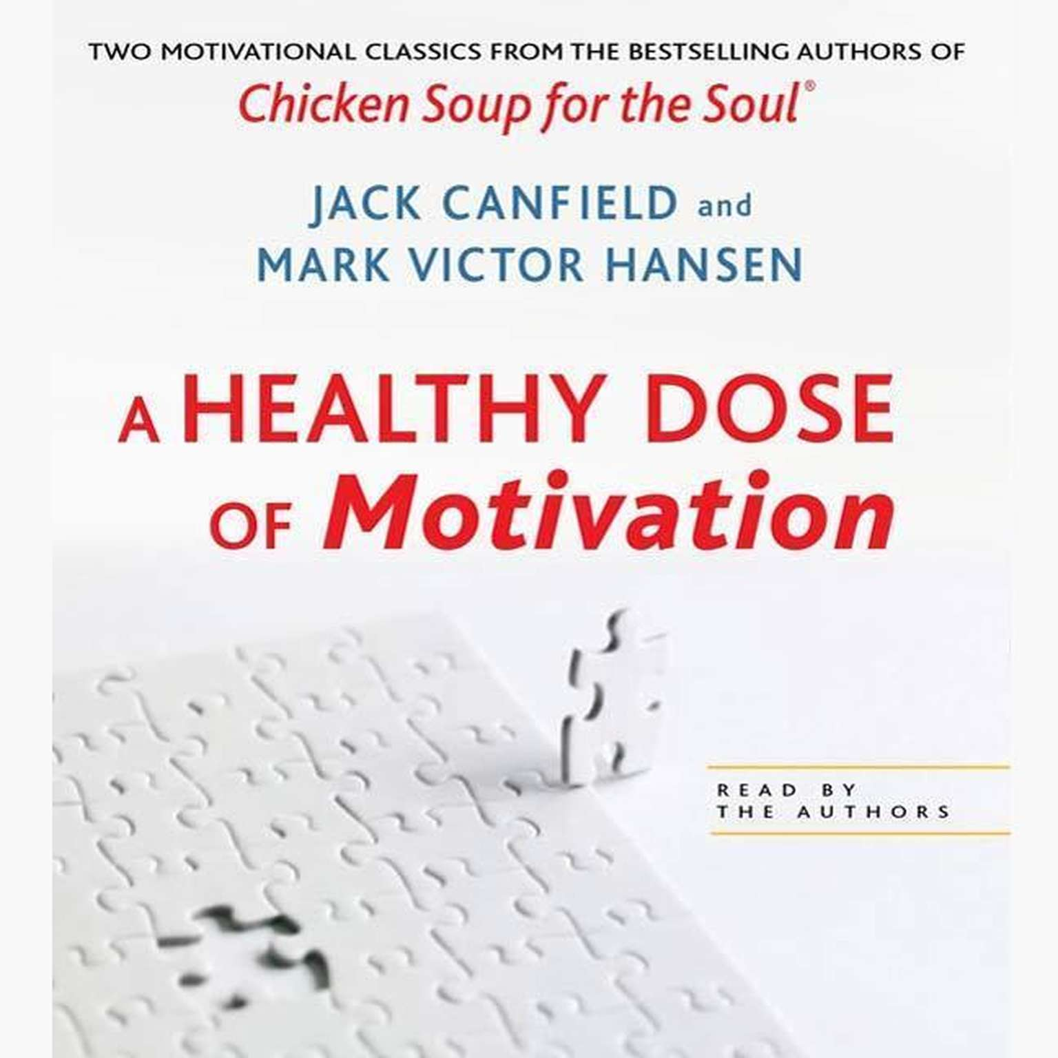 Printable A Healthy Dose of Motivation: Includes 'The Aladdin Factor' and 'Dare to Win' Audiobook Cover Art