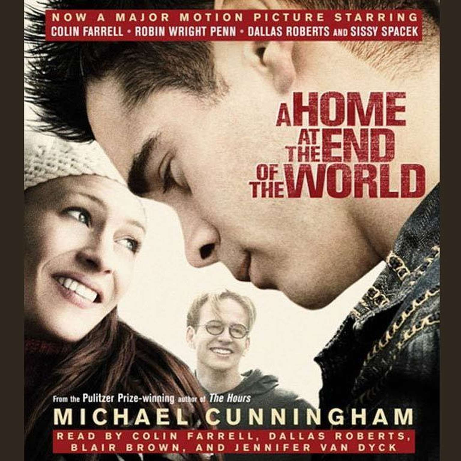 Printable A Home at the End of the World: A Novel Audiobook Cover Art