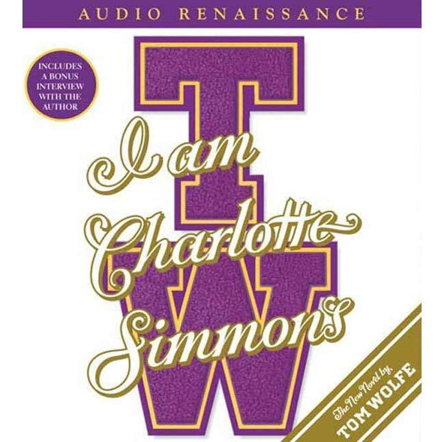 Printable I Am Charlotte Simmons: A Novel Audiobook Cover Art