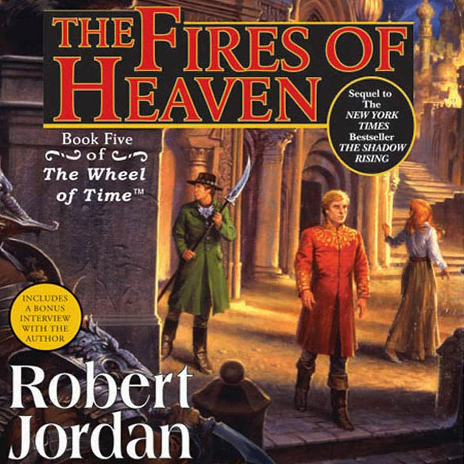 Printable The Fires of Heaven: Book Five of 'The Wheel of Time' Audiobook Cover Art