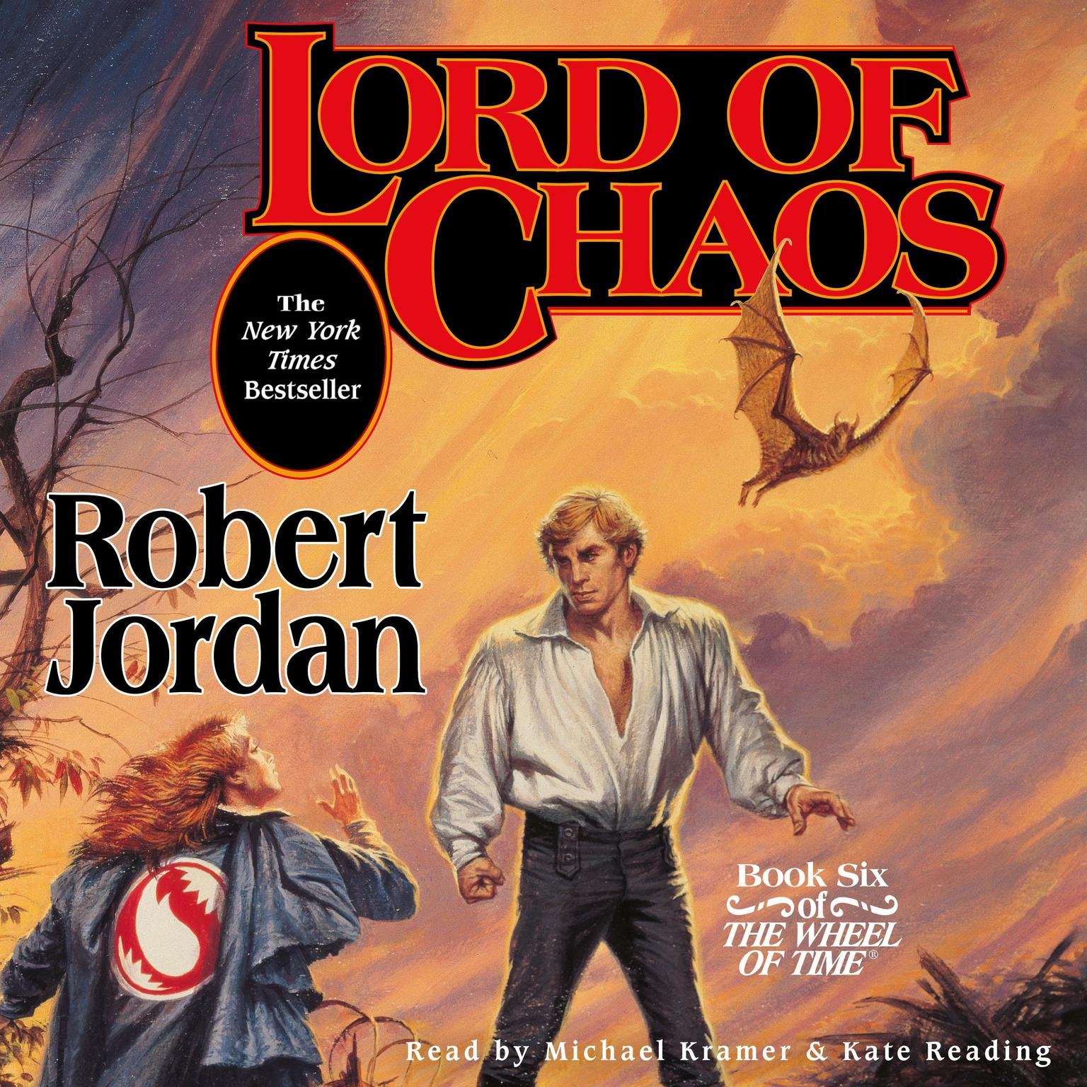 Printable Lord of Chaos: Book Six of 'The Wheel of Time' Audiobook Cover Art