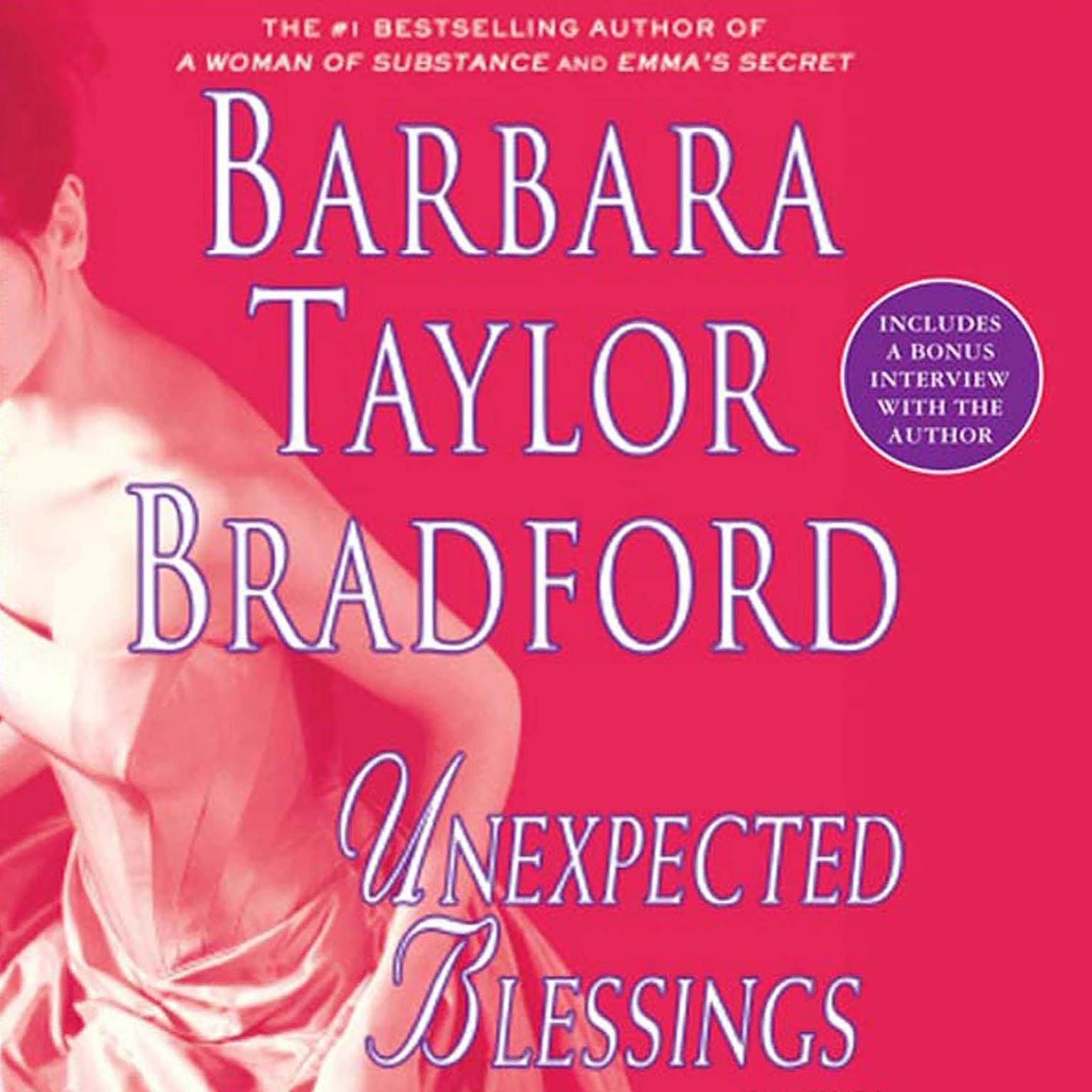 Printable Unexpected Blessings: A Novel of the Harte Family Audiobook Cover Art