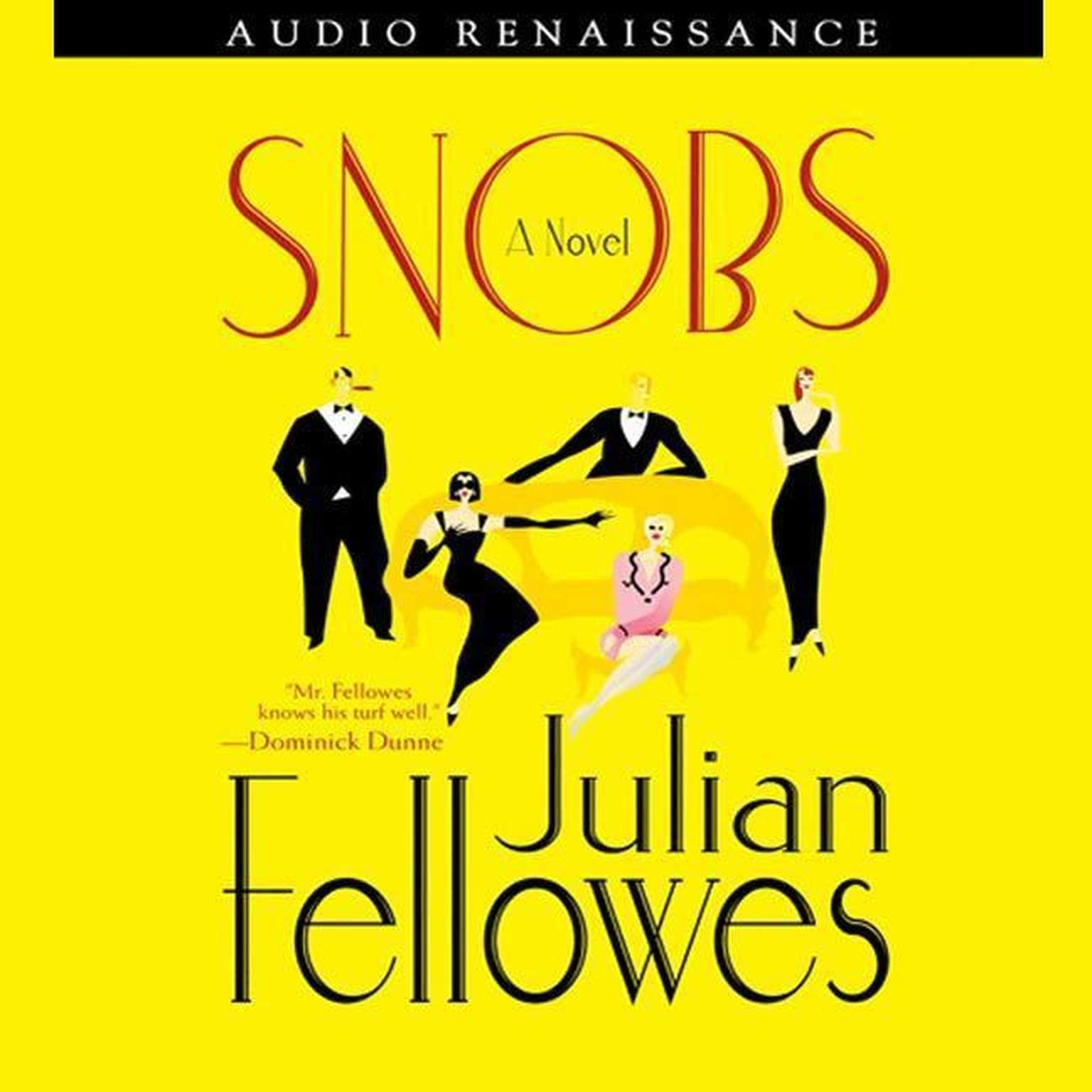 Printable Snobs: A Novel Audiobook Cover Art