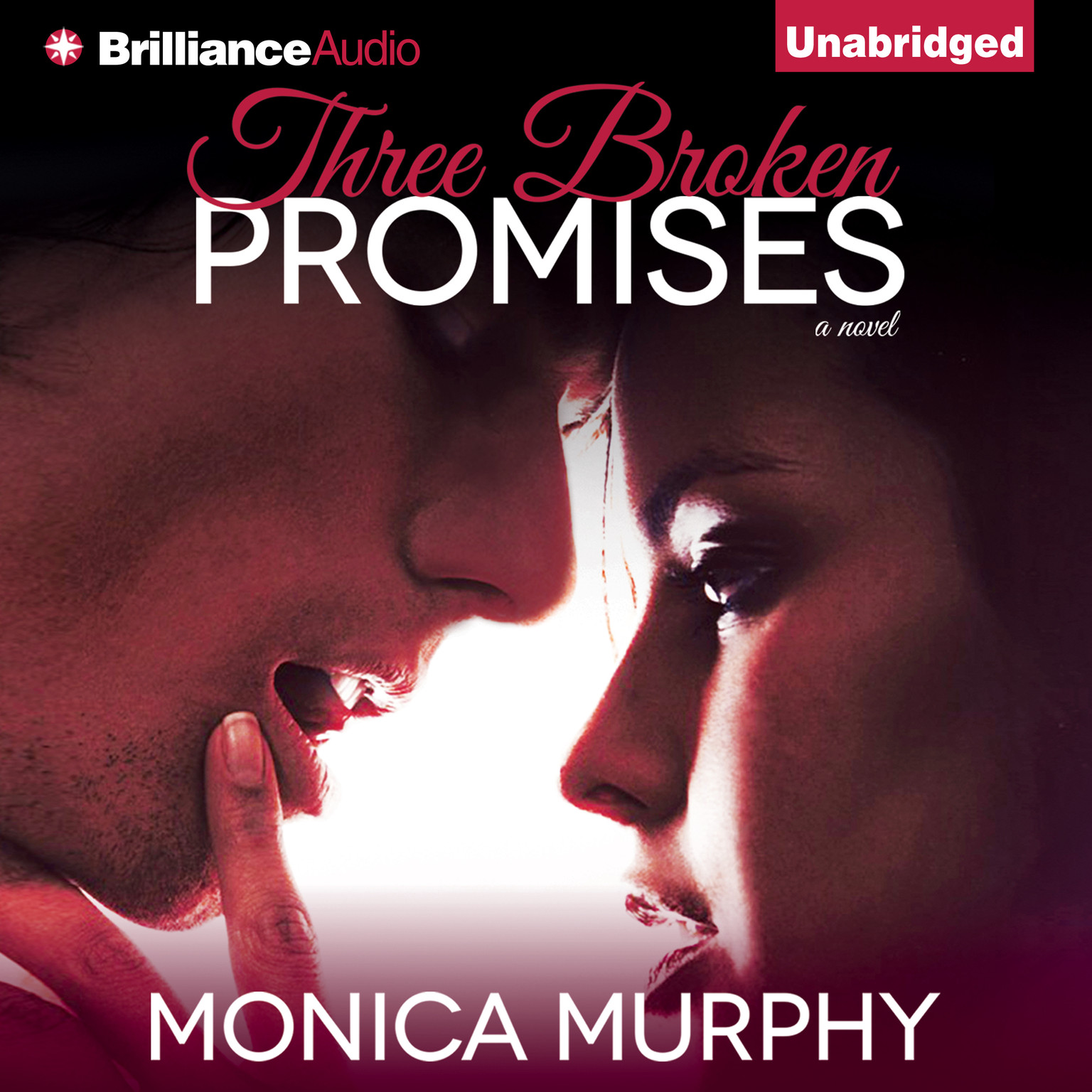Printable Three Broken Promises: A Novel Audiobook Cover Art