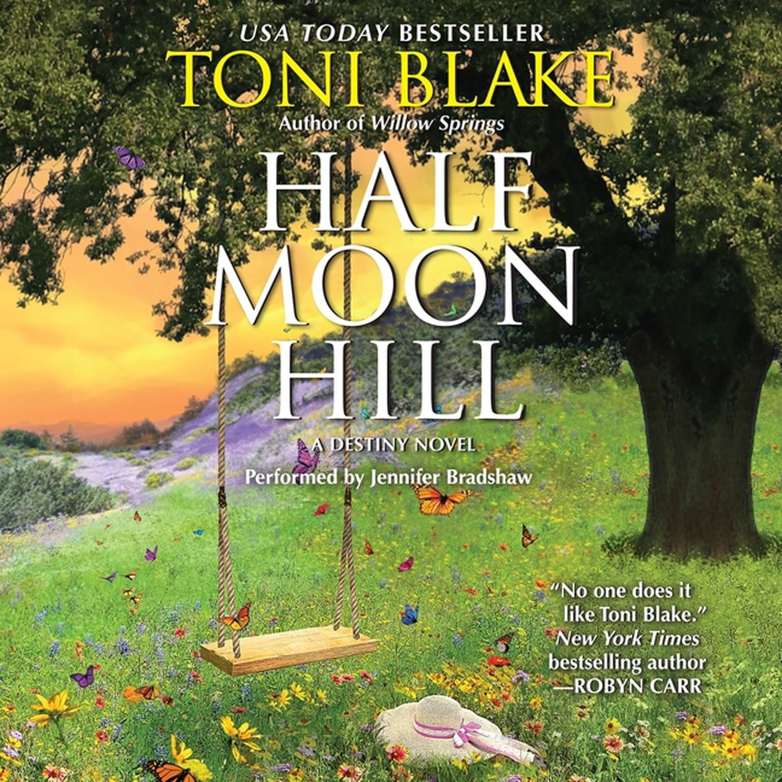 Printable Half Moon Hill Audiobook Cover Art