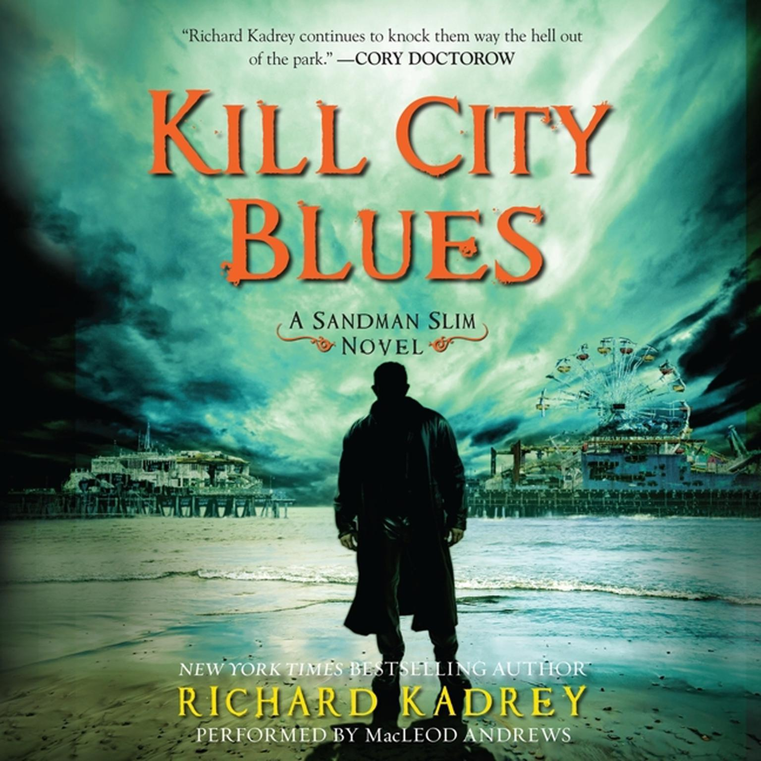 Printable Kill City Blues Audiobook Cover Art