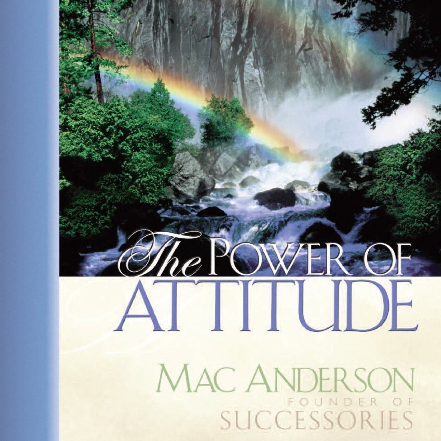 Printable The Power Attitude Audiobook Cover Art