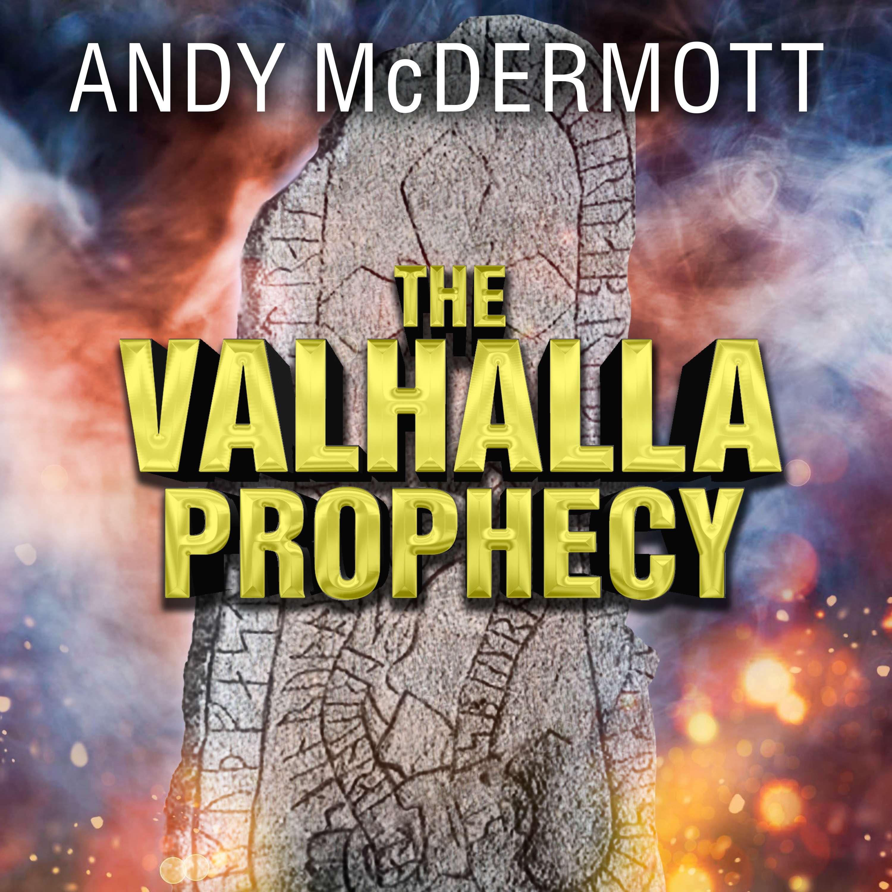 Printable The Valhalla Prophecy Audiobook Cover Art