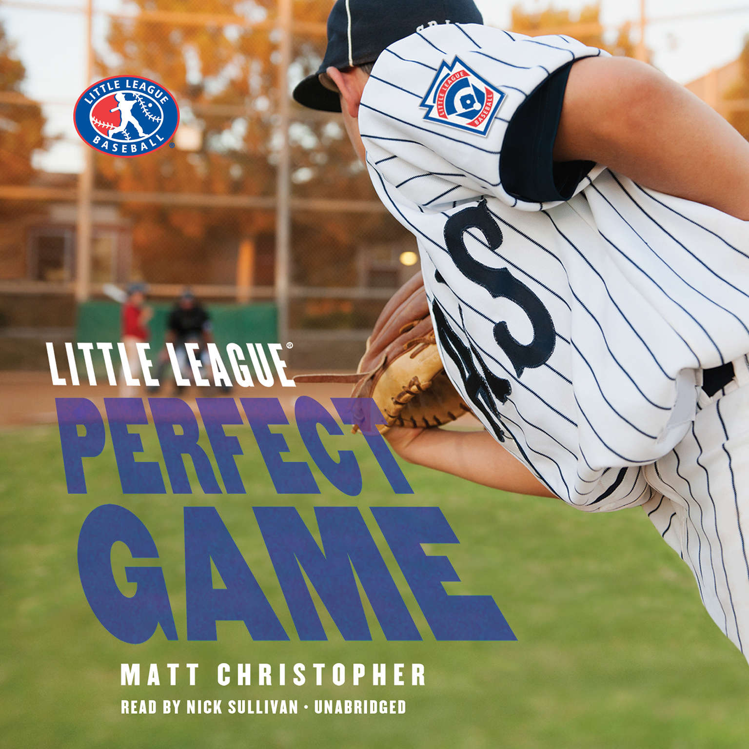 Printable Perfect Game Audiobook Cover Art