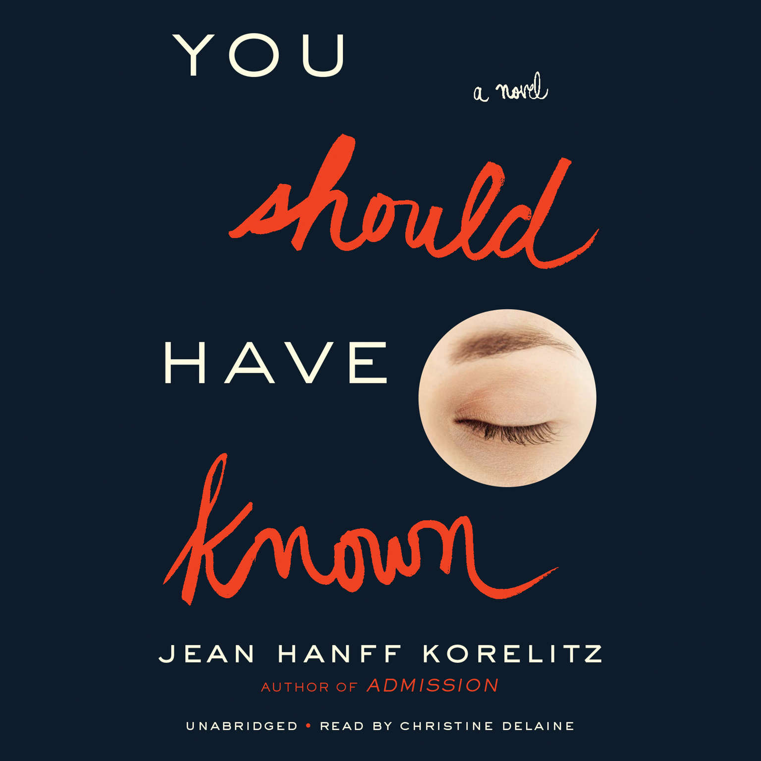 Printable You Should Have Known Audiobook Cover Art
