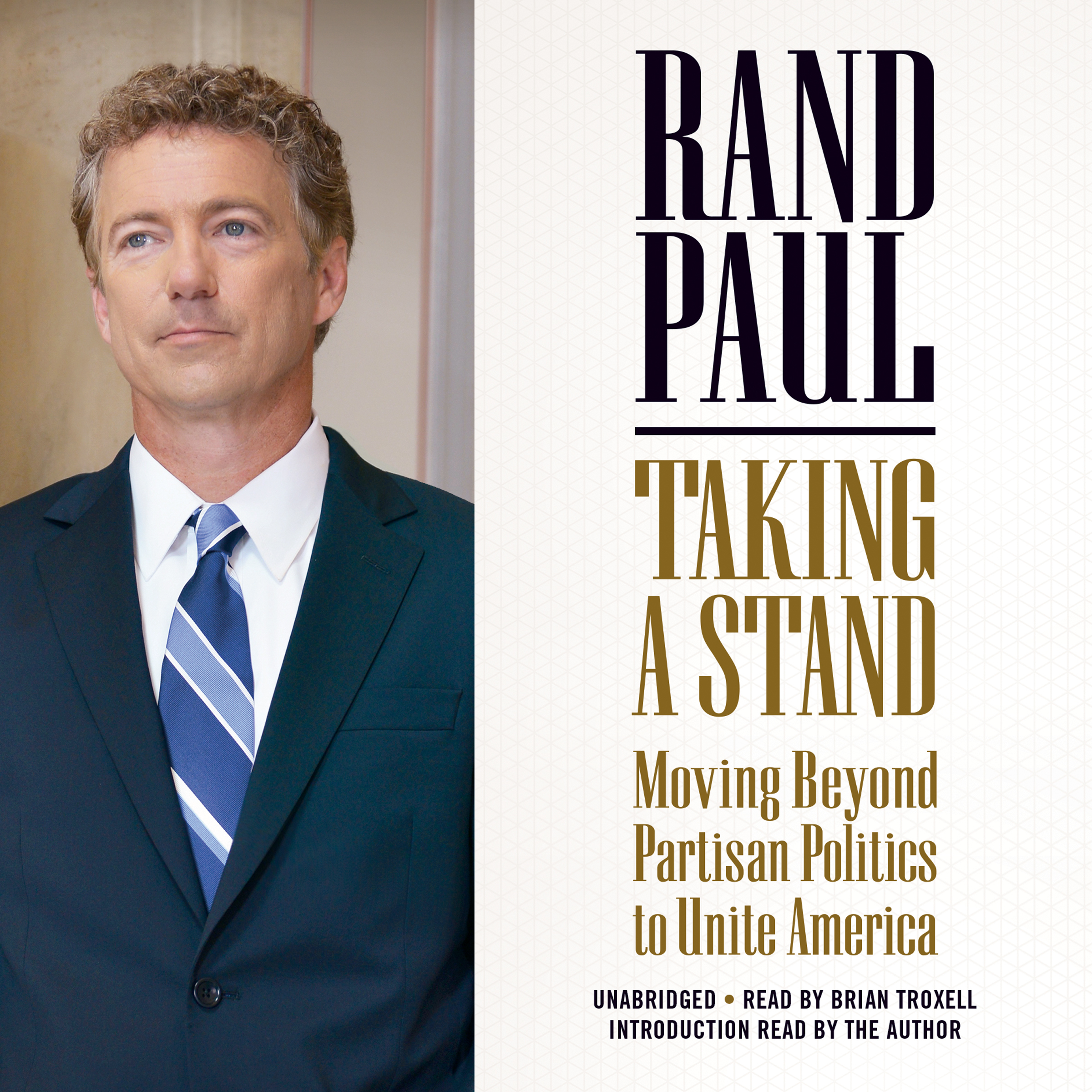 Printable Taking a Stand: Moving Beyond Partisan Politics to Unite America Audiobook Cover Art