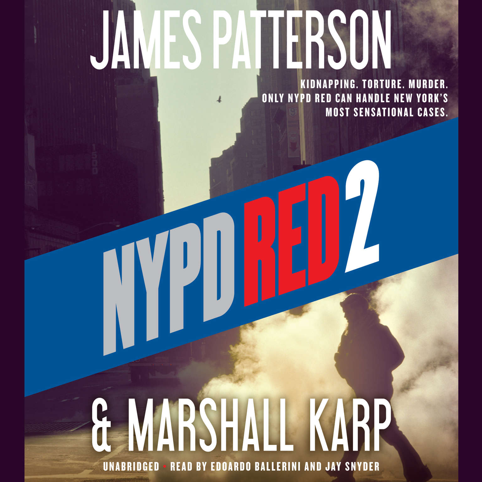 Printable NYPD Red 2 Audiobook Cover Art