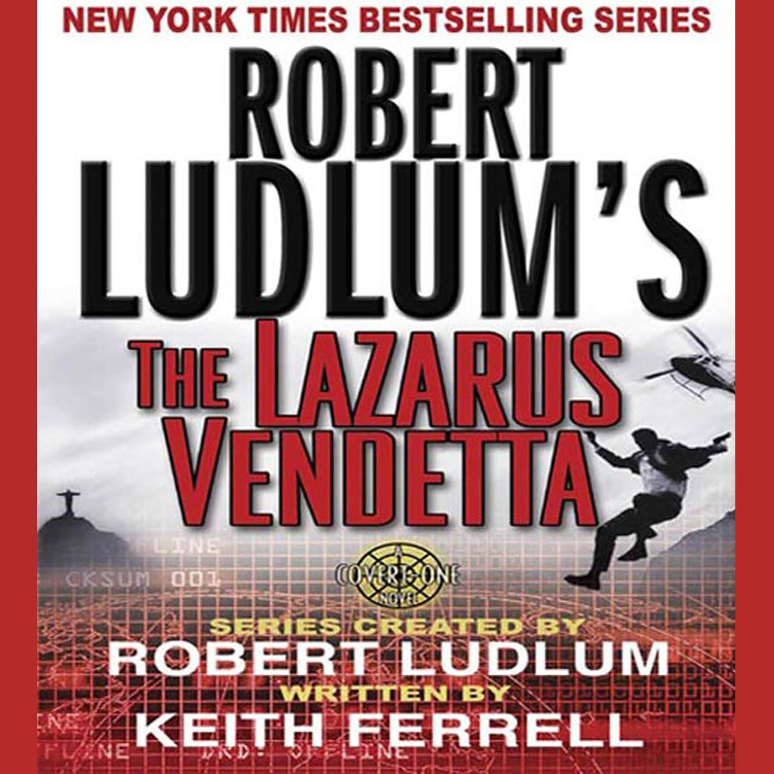 Printable Robert Ludlum's The Lazarus Vendetta: A Covert-One Novel Audiobook Cover Art