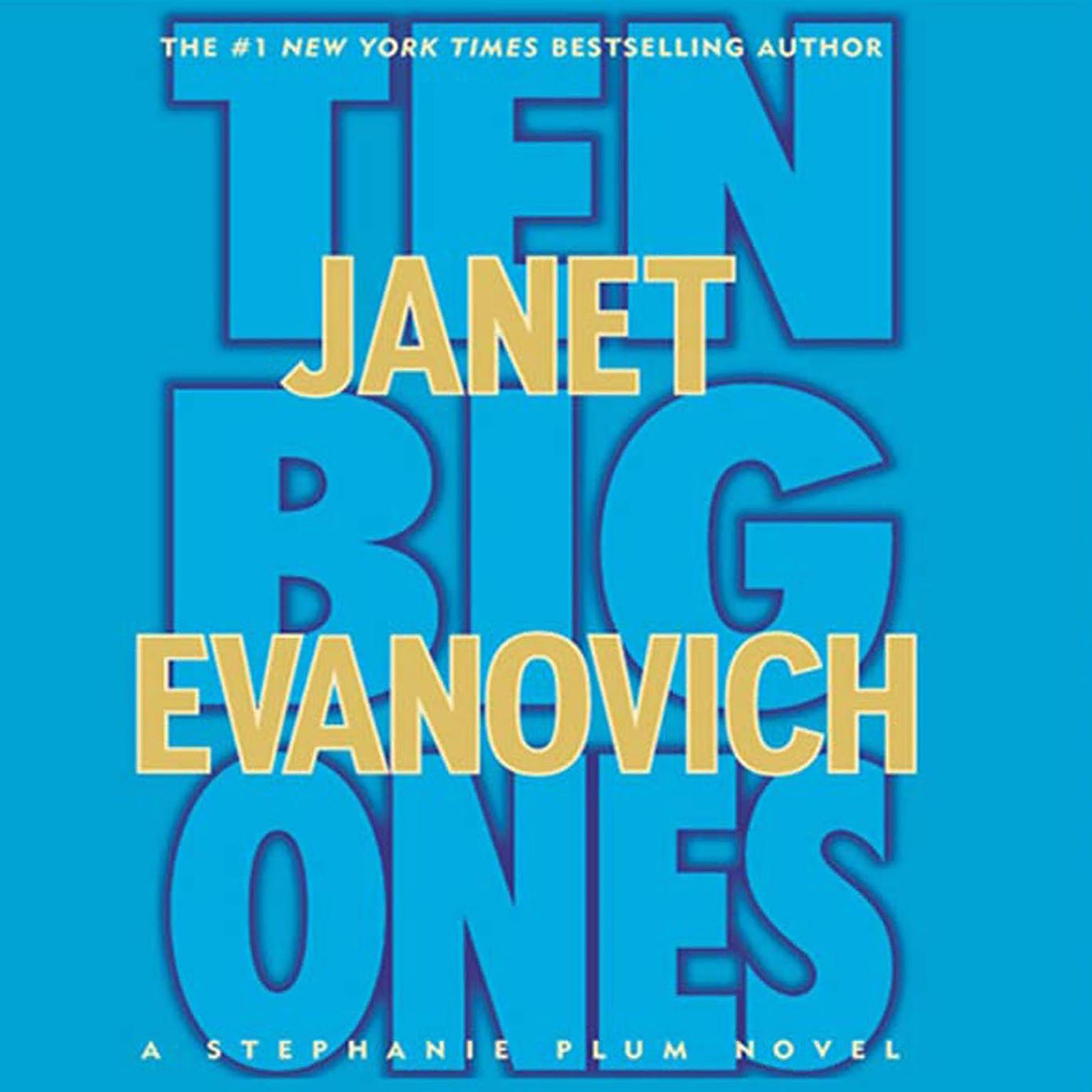 Printable Ten Big Ones: A Stephanie Plum Novel Audiobook Cover Art