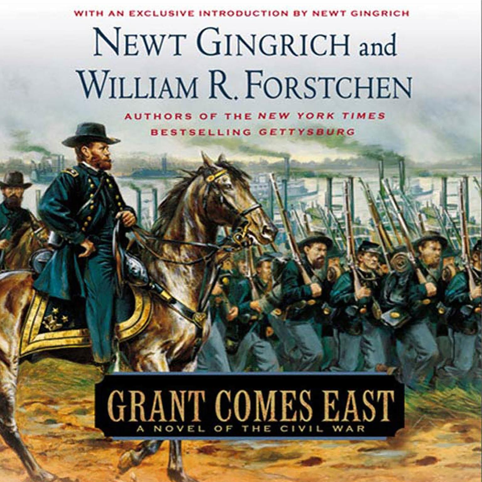 Printable Grant Comes East: A Novel of the Civil War Audiobook Cover Art