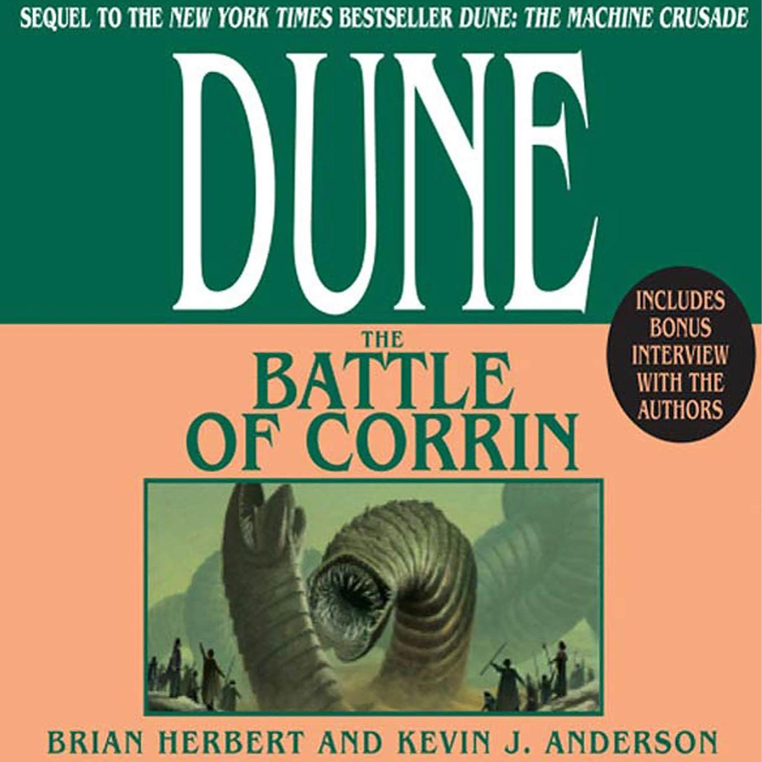 Printable Dune: The Battle of Corrin Audiobook Cover Art