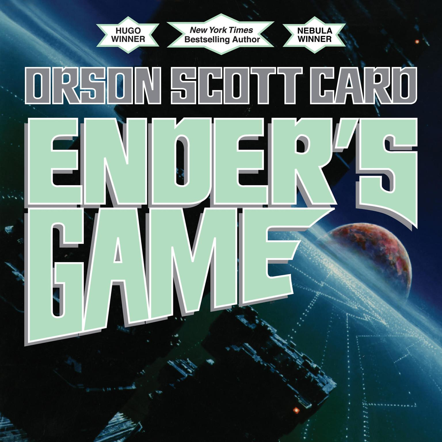 Printable Ender's Game: Special 20th Anniversary Edition Audiobook Cover Art