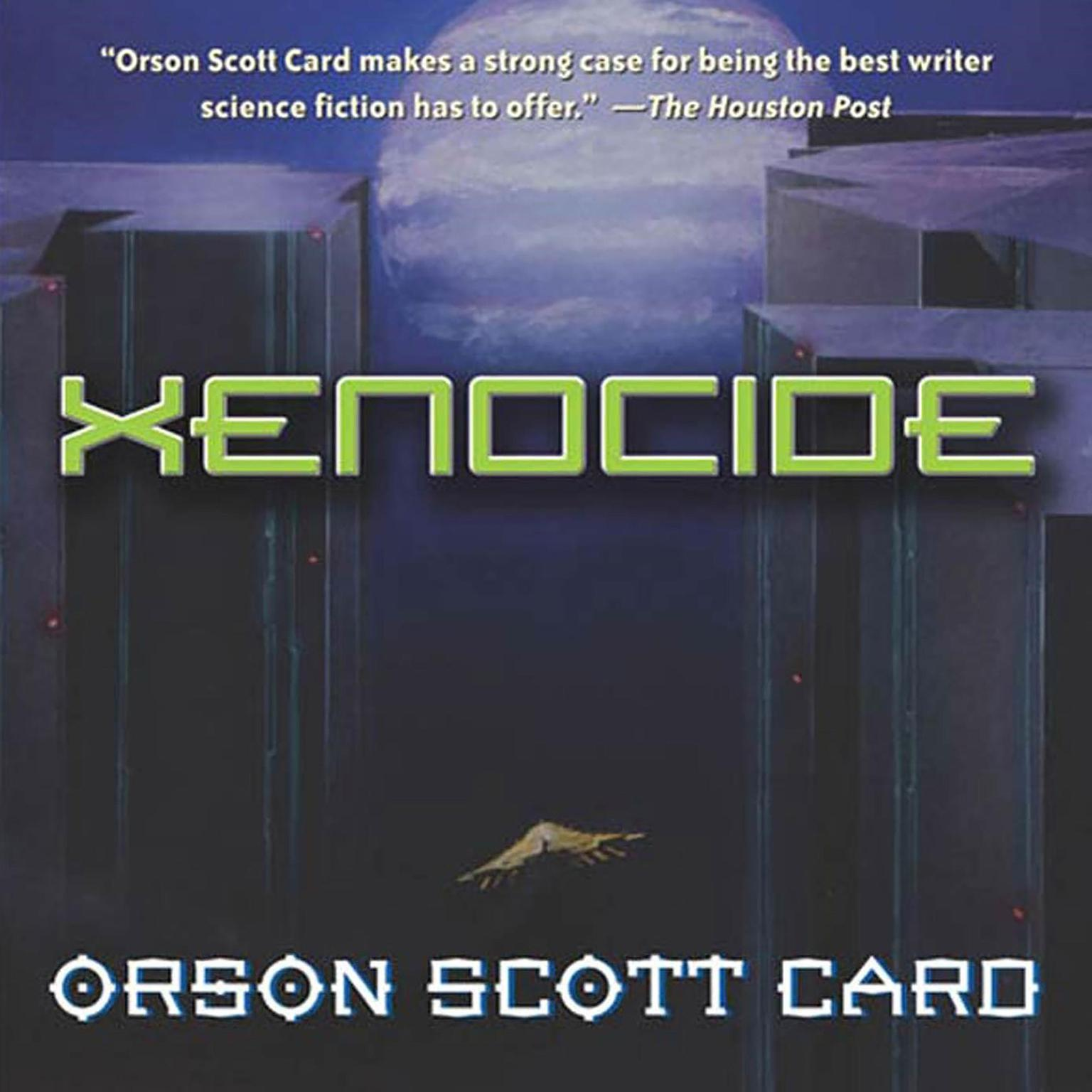 Printable Xenocide: Volume Three of the Ender Quintet Audiobook Cover Art
