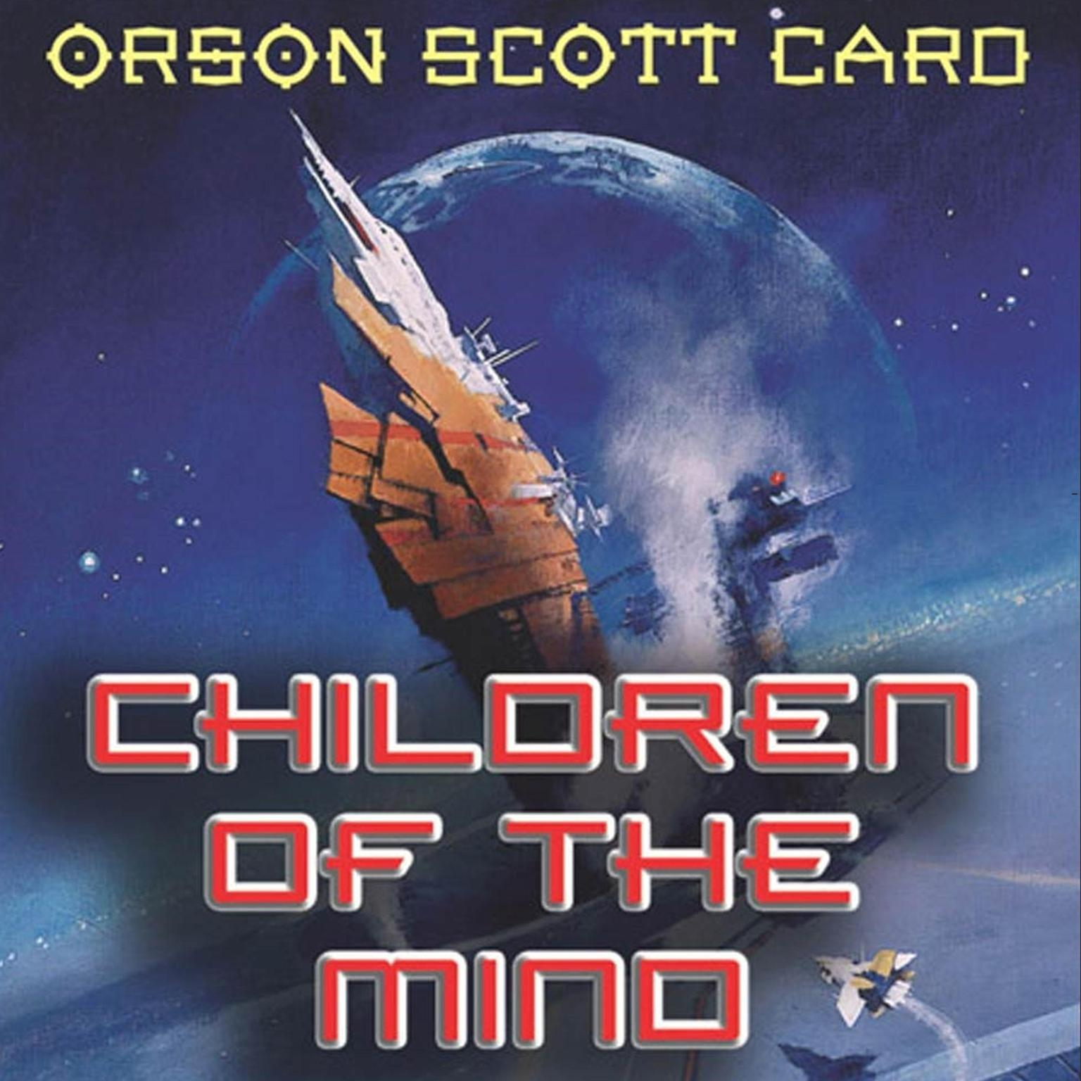 Printable Children of the Mind: The Conclusion of the Enders Quartet Audiobook Cover Art