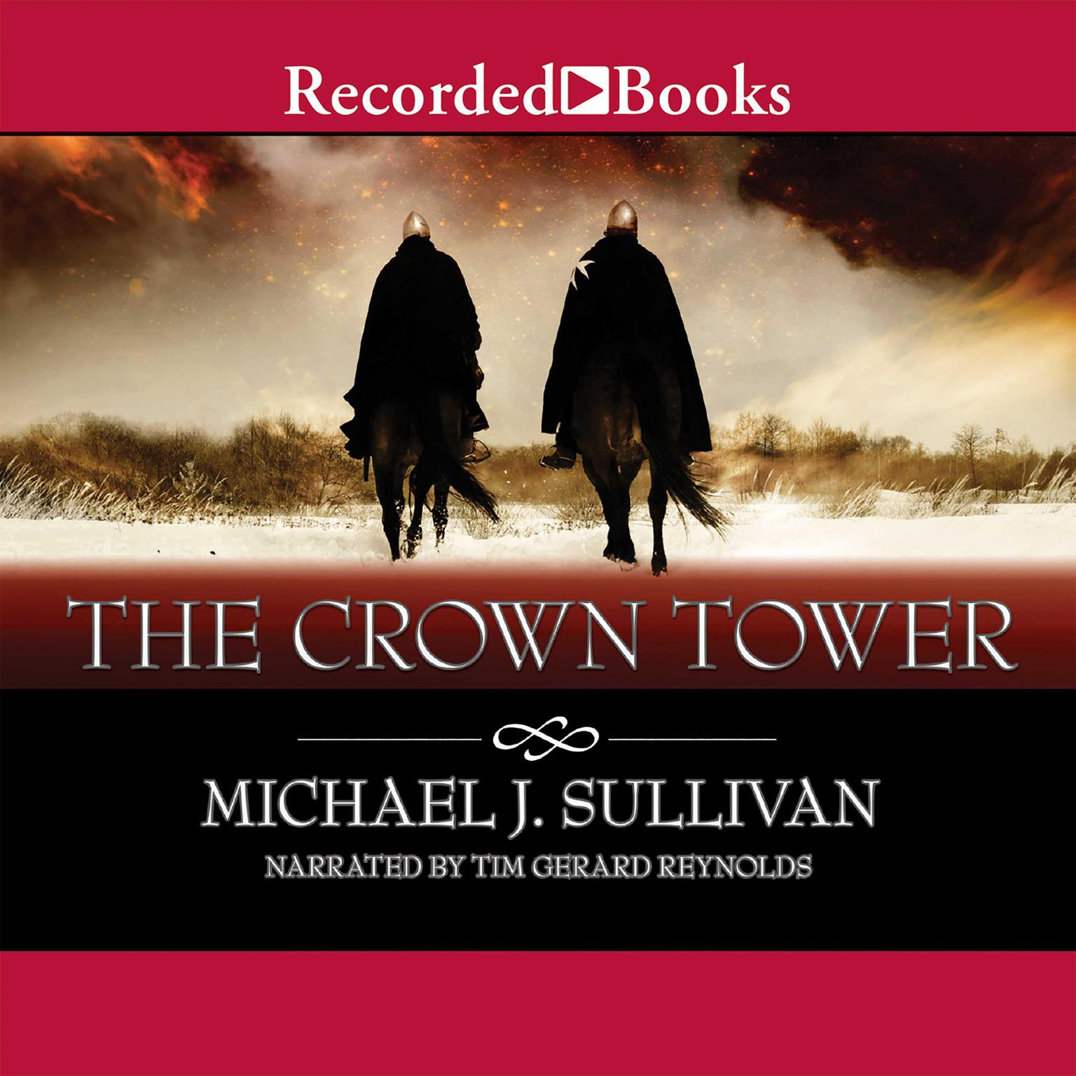 Printable The Crown Tower Audiobook Cover Art
