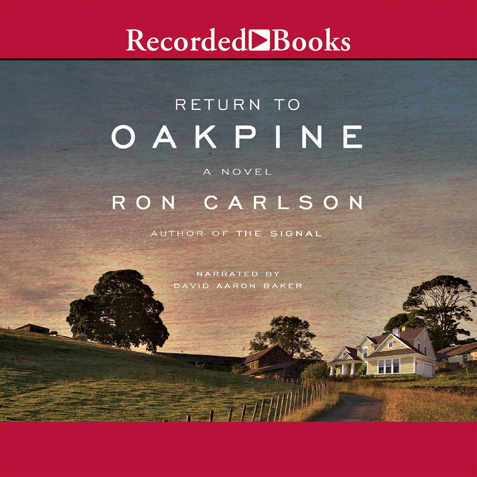 Printable Return to Oakpine Audiobook Cover Art