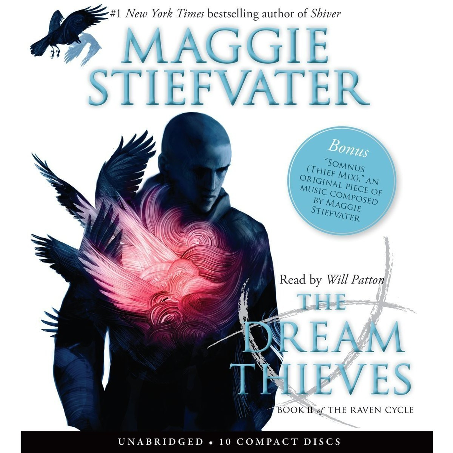 Printable The Dream Thieves Audiobook Cover Art