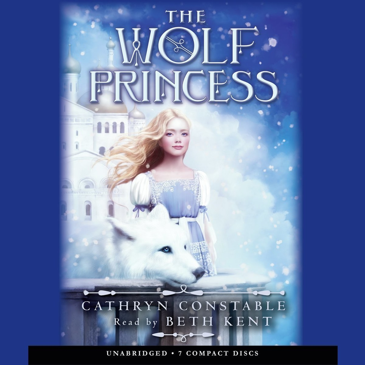 Printable Wolf Princess Audiobook Cover Art