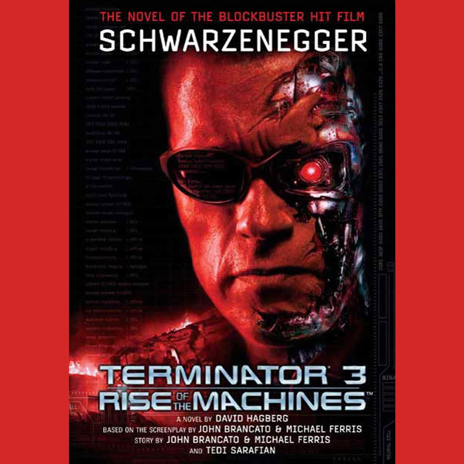 Printable Terminator 3: Rise of the Machines Audiobook Cover Art