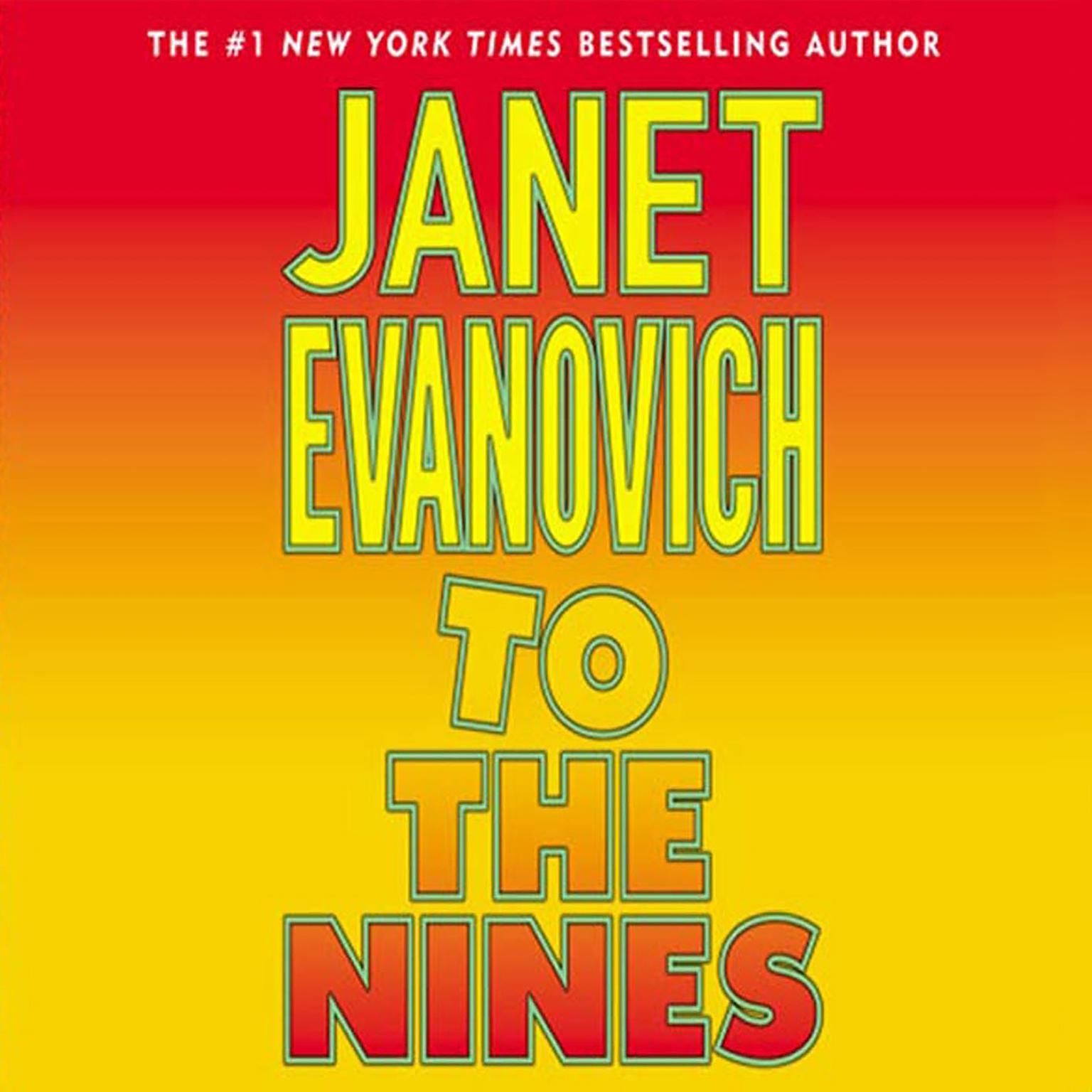 Printable To the Nines (Abridged) Audiobook Cover Art
