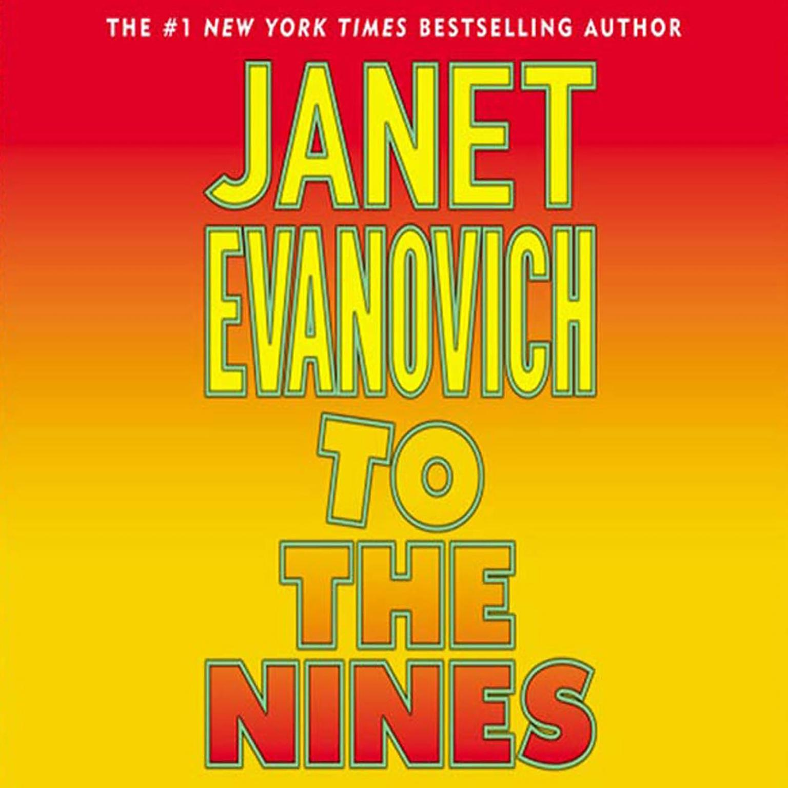 Printable To the Nines Audiobook Cover Art